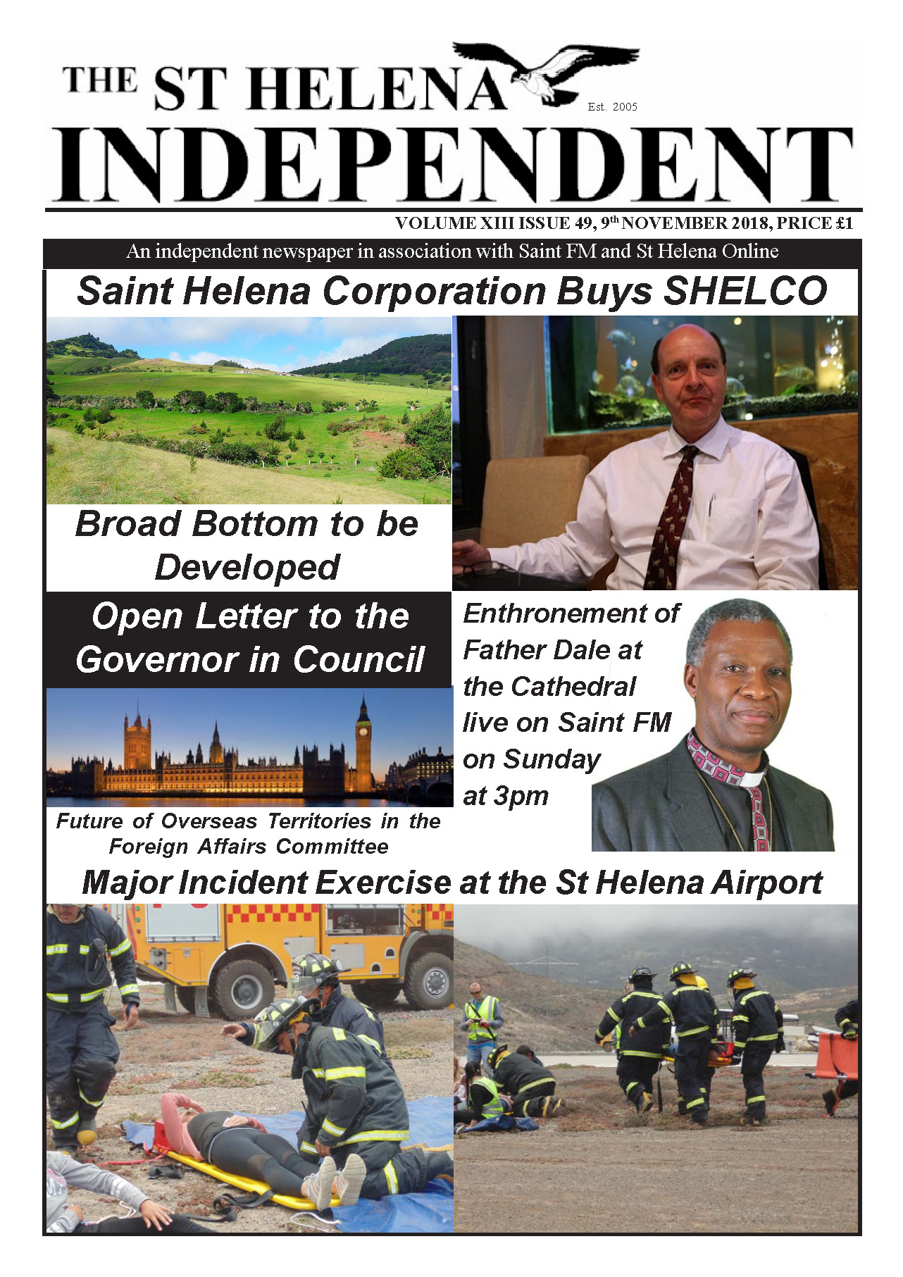 St Helena Independent 20181109