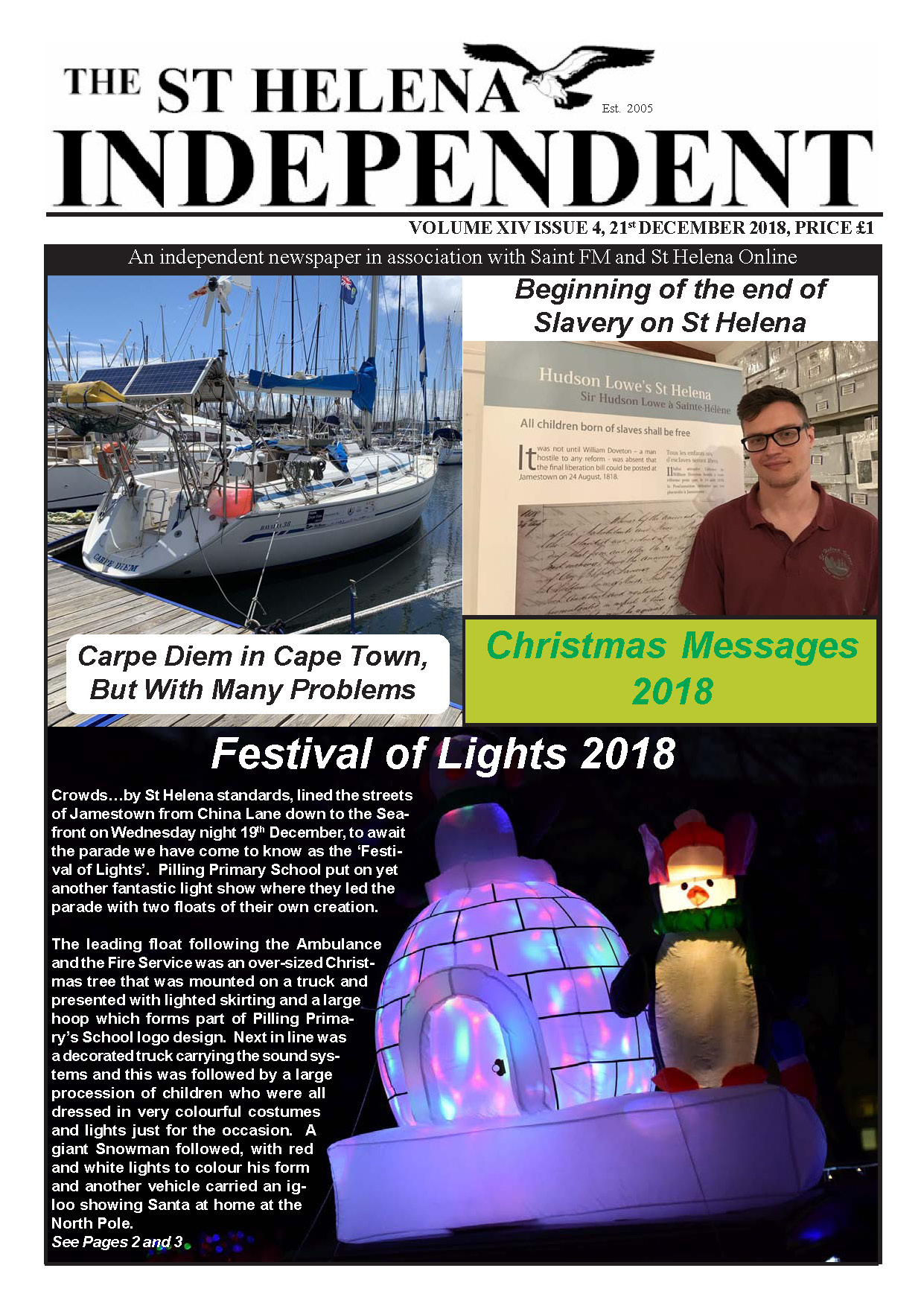 Saint Helena Independent 20181221