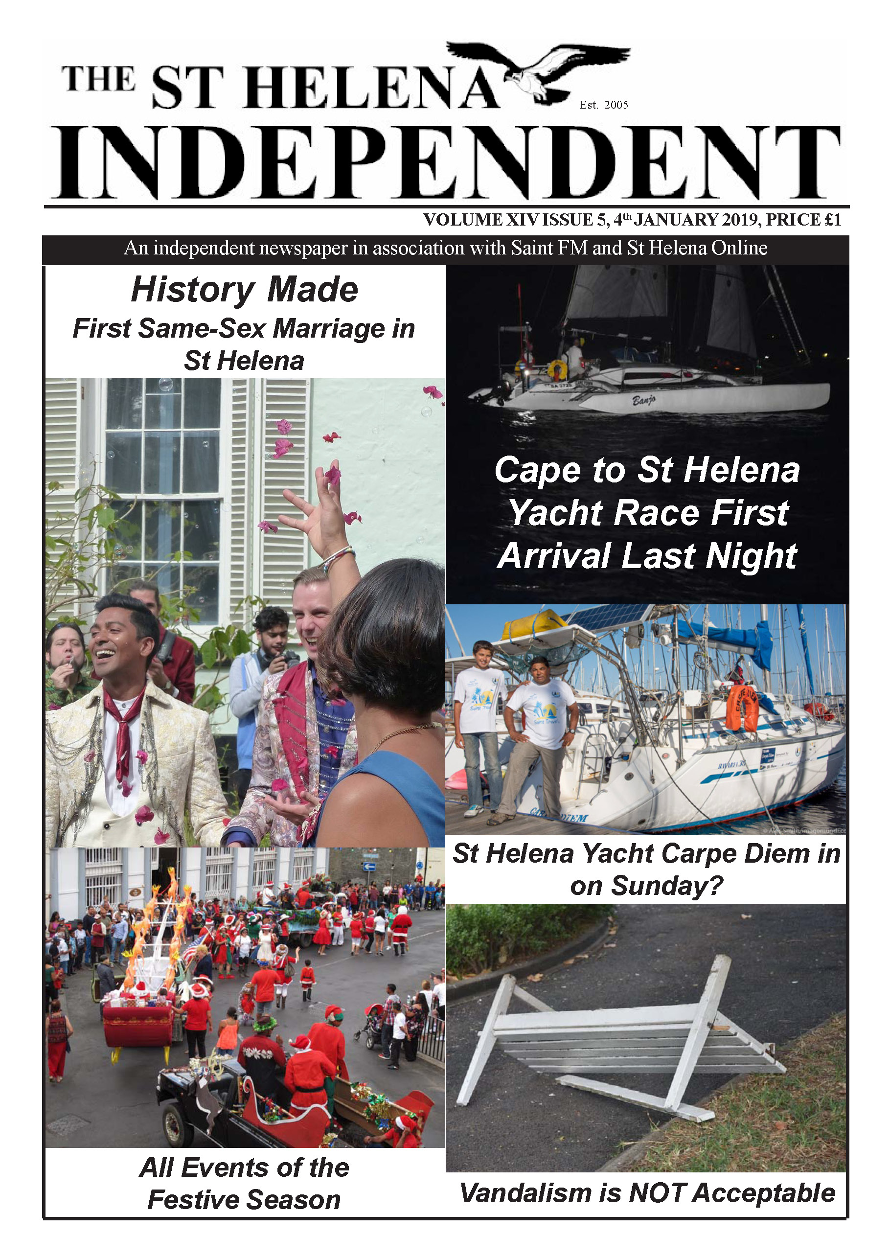 St Helena Independent 20190104