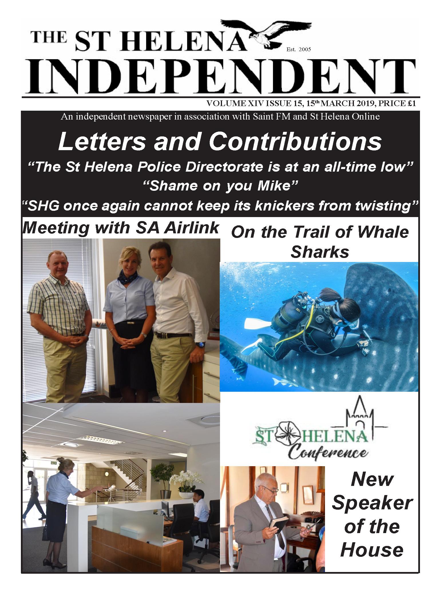 Saint Helena Independent 20190315