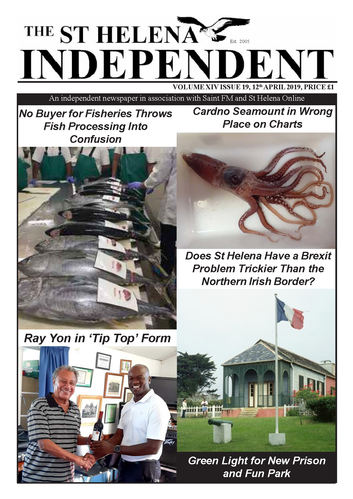 St Helena Independent 20190412