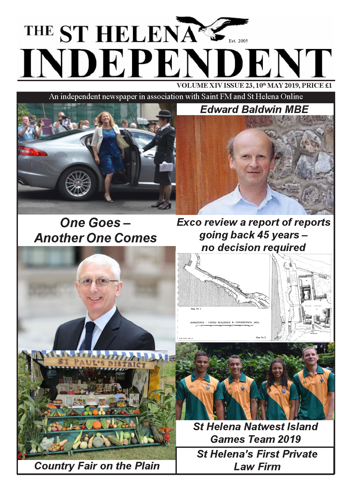 St Helena Independent 20190510