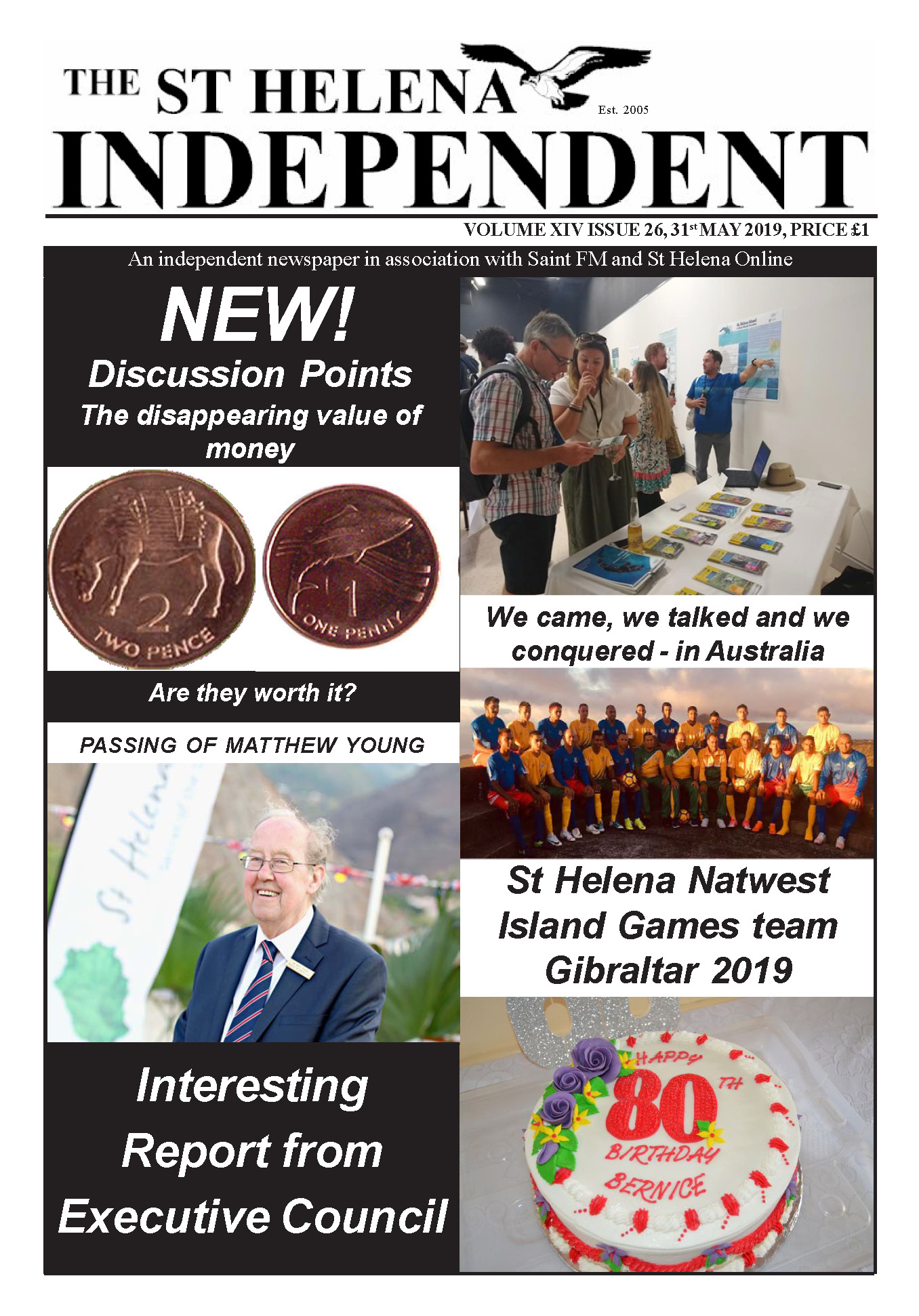 St Helena Independent 20190531