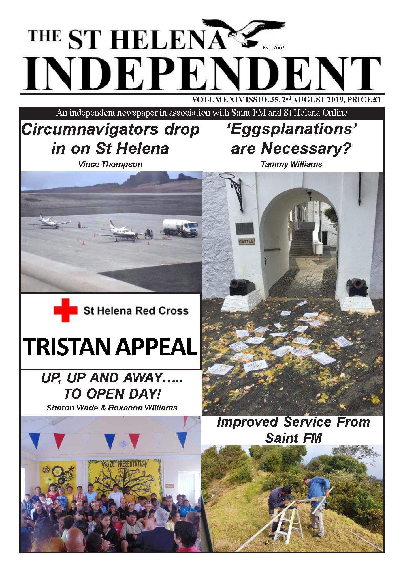 St Helena Independent 20190802