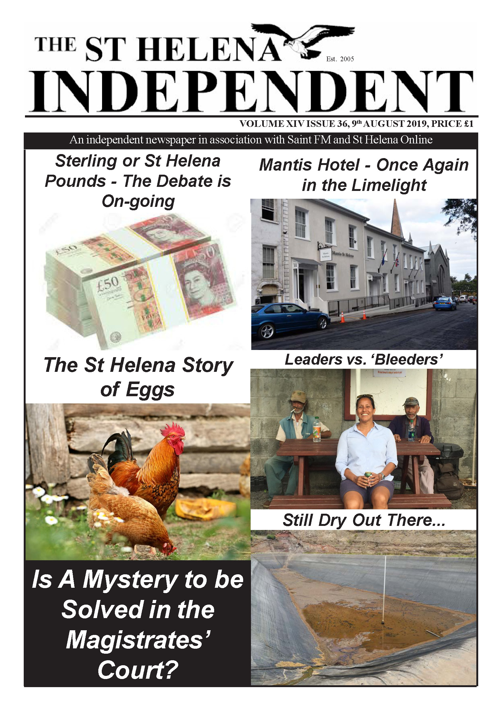 St Helena Independent 20190809