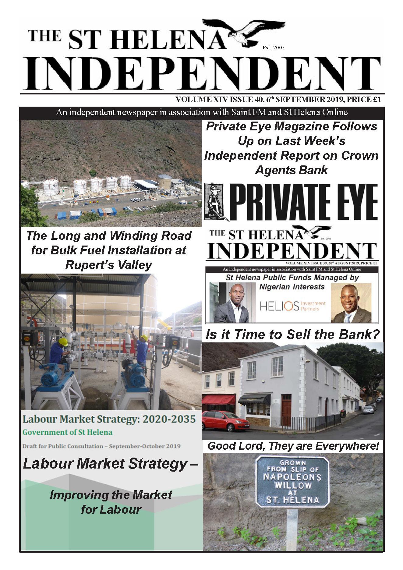 St Helena Independent 20190906
