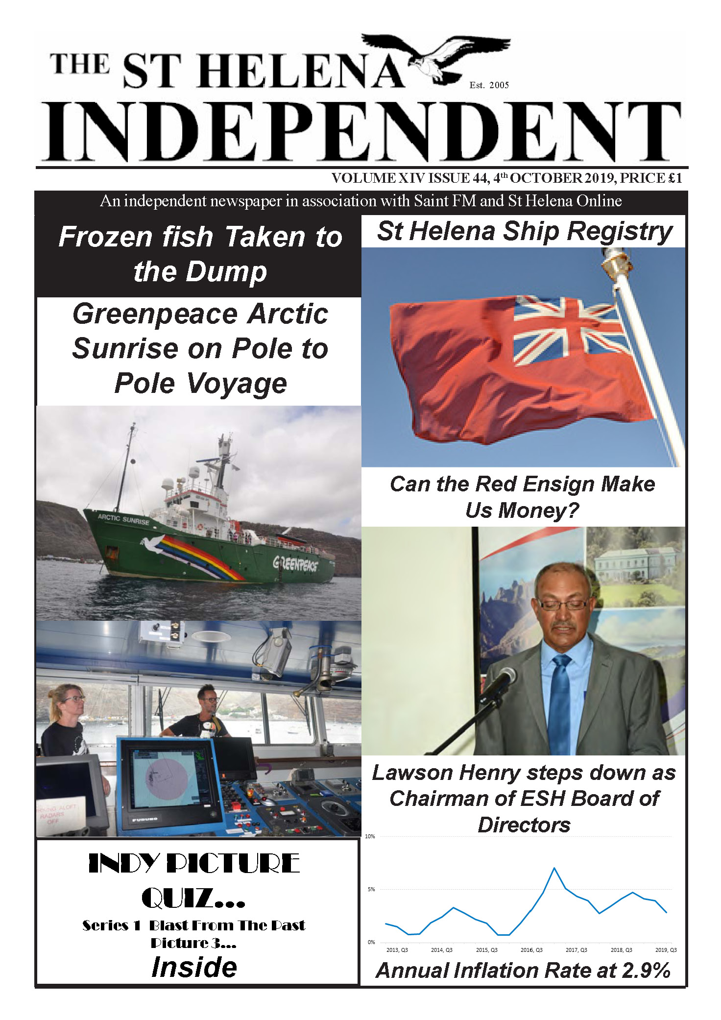 St Helena Independent 20191004