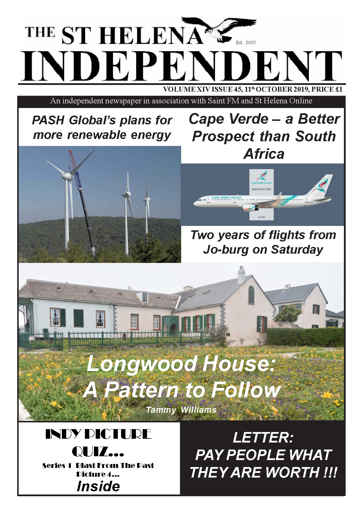 St Helena Independent 20191011