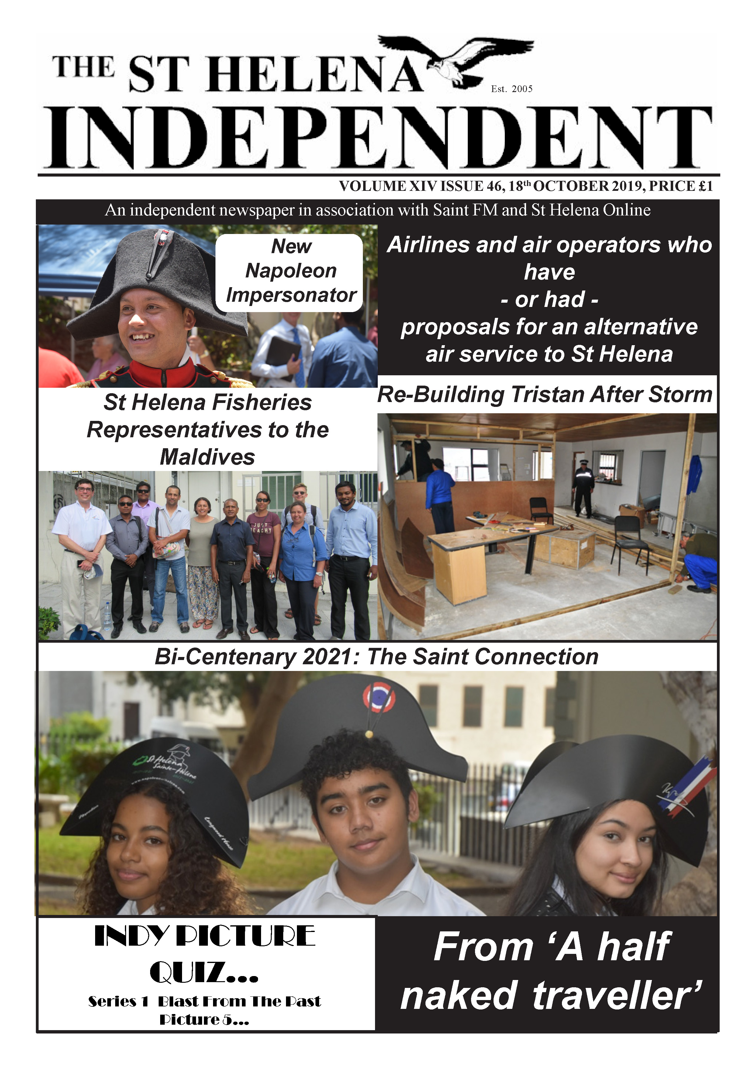 St Helena Independent 20191018