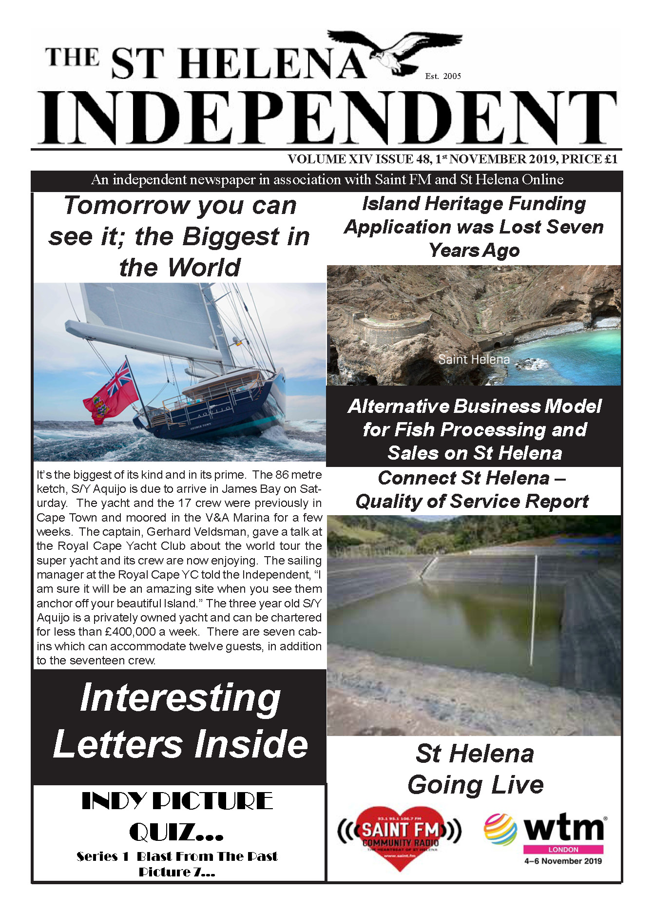 St Helena Independent 20191101