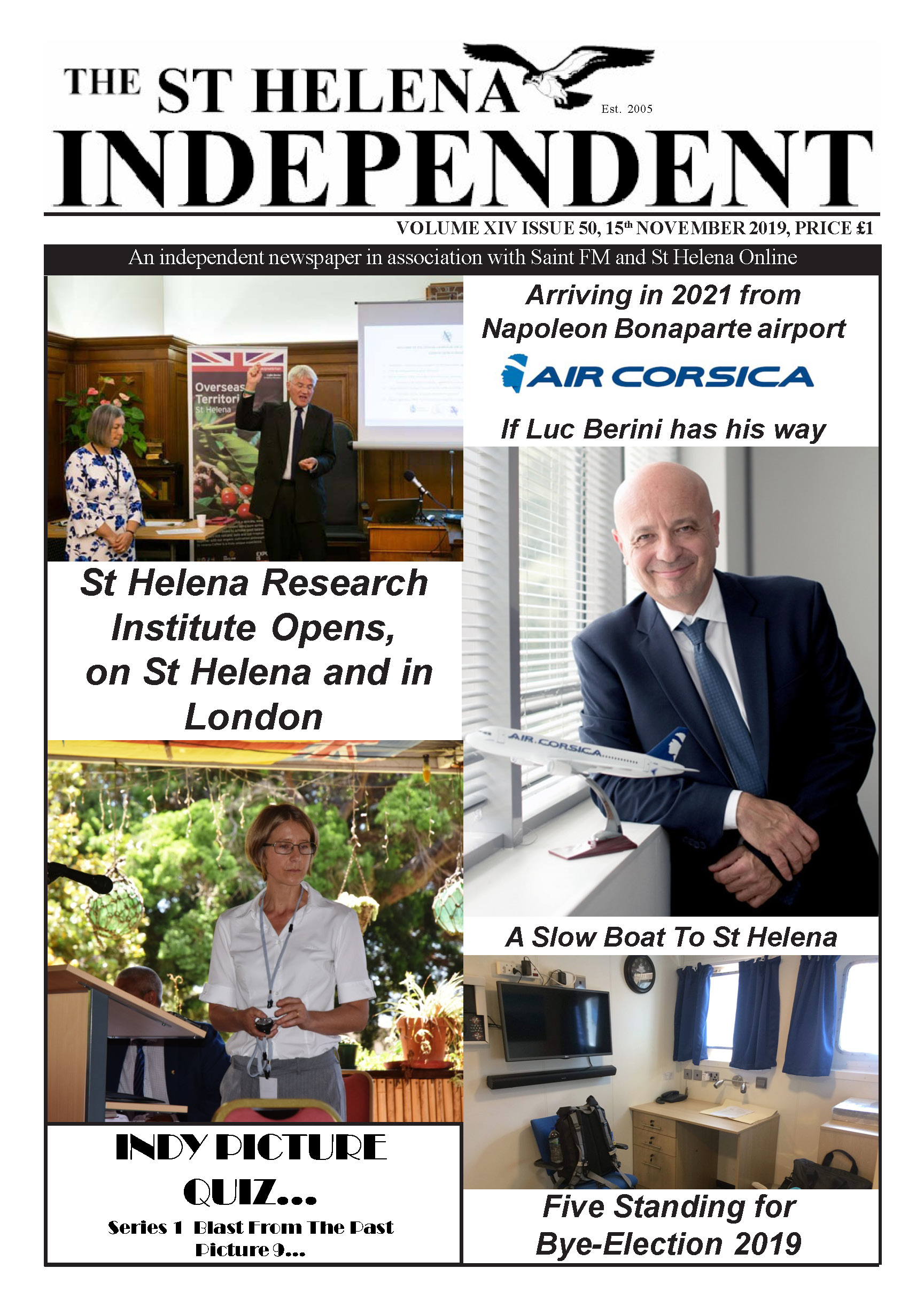 St Helena Independent 20191115