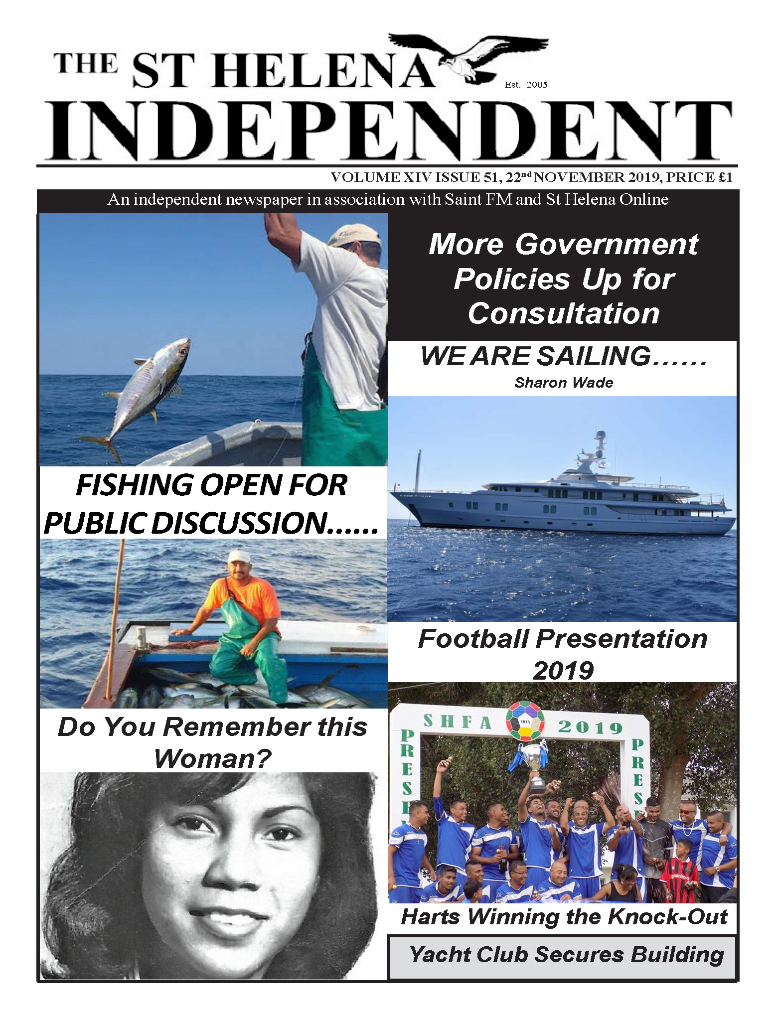 St Helena Independent 20191122