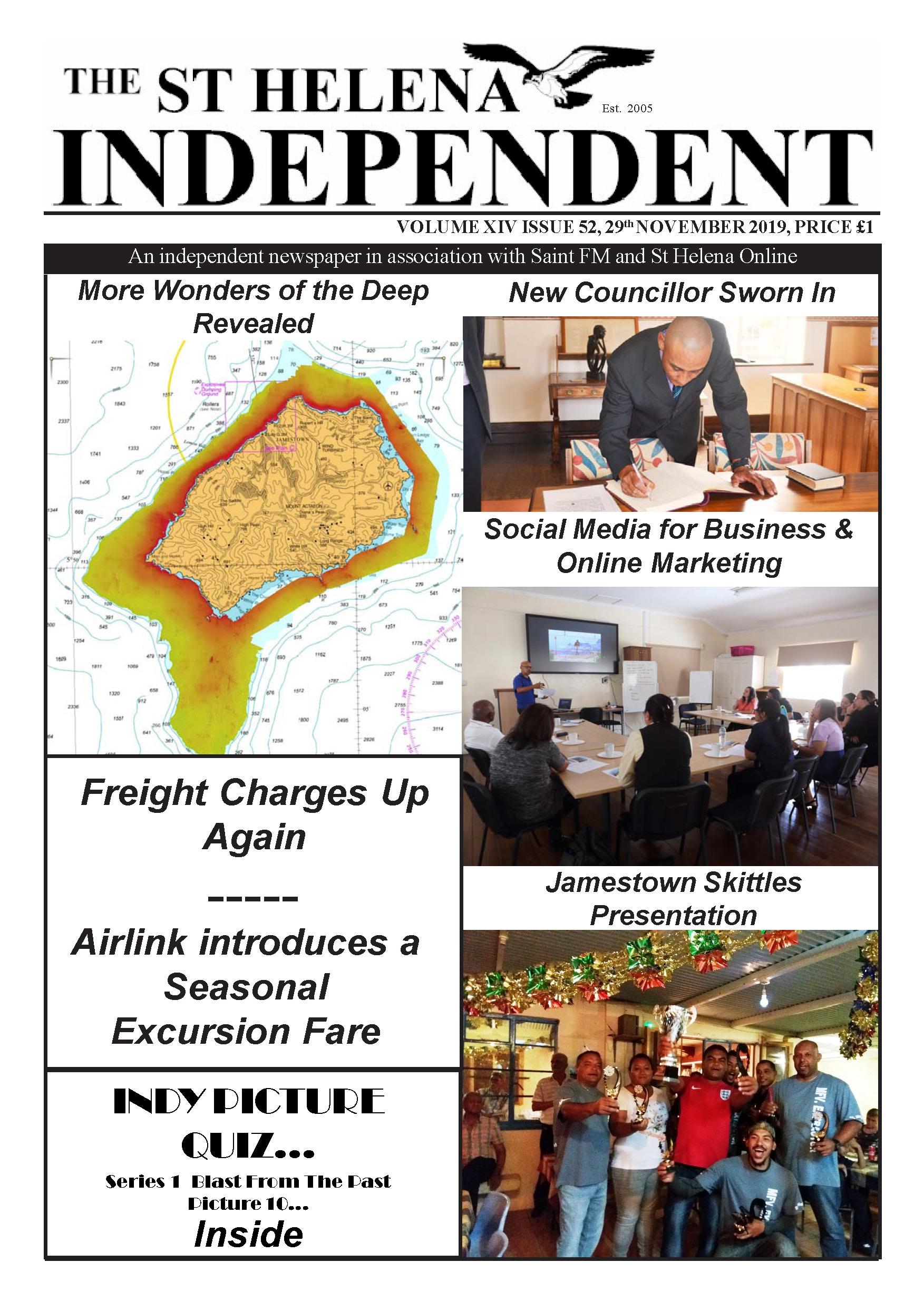St Helena Independent 20191129