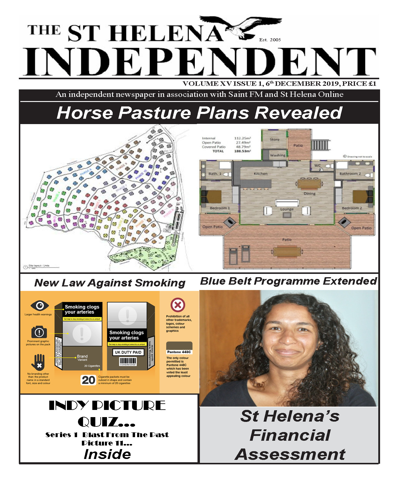St Helena Independent 20191206 p1