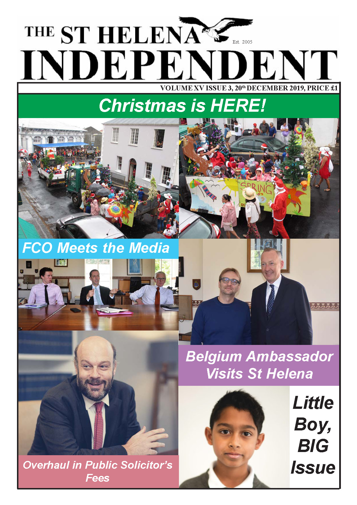 St Helena Independent 20191220 p1