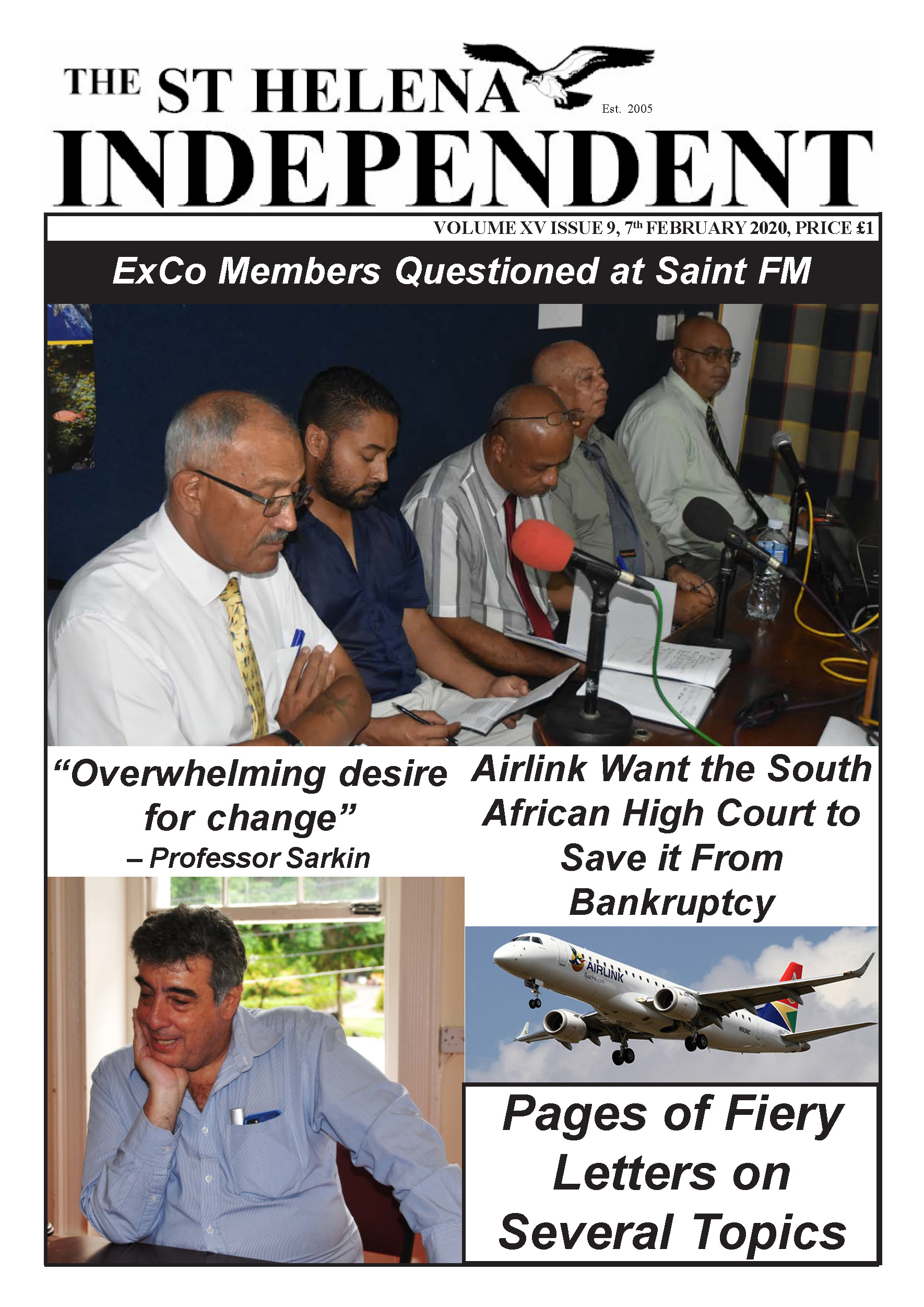 St Helena Independent 20200207 p1
