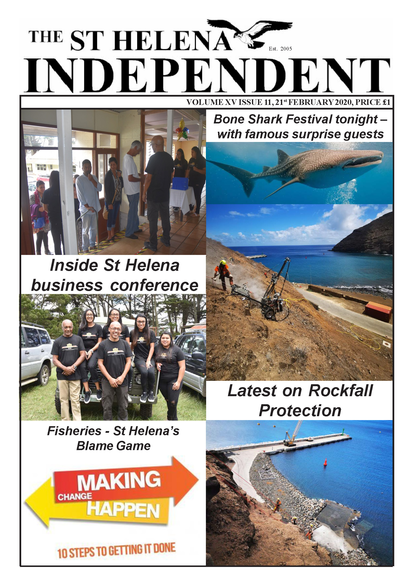 St Helena Independent 20200221 p1