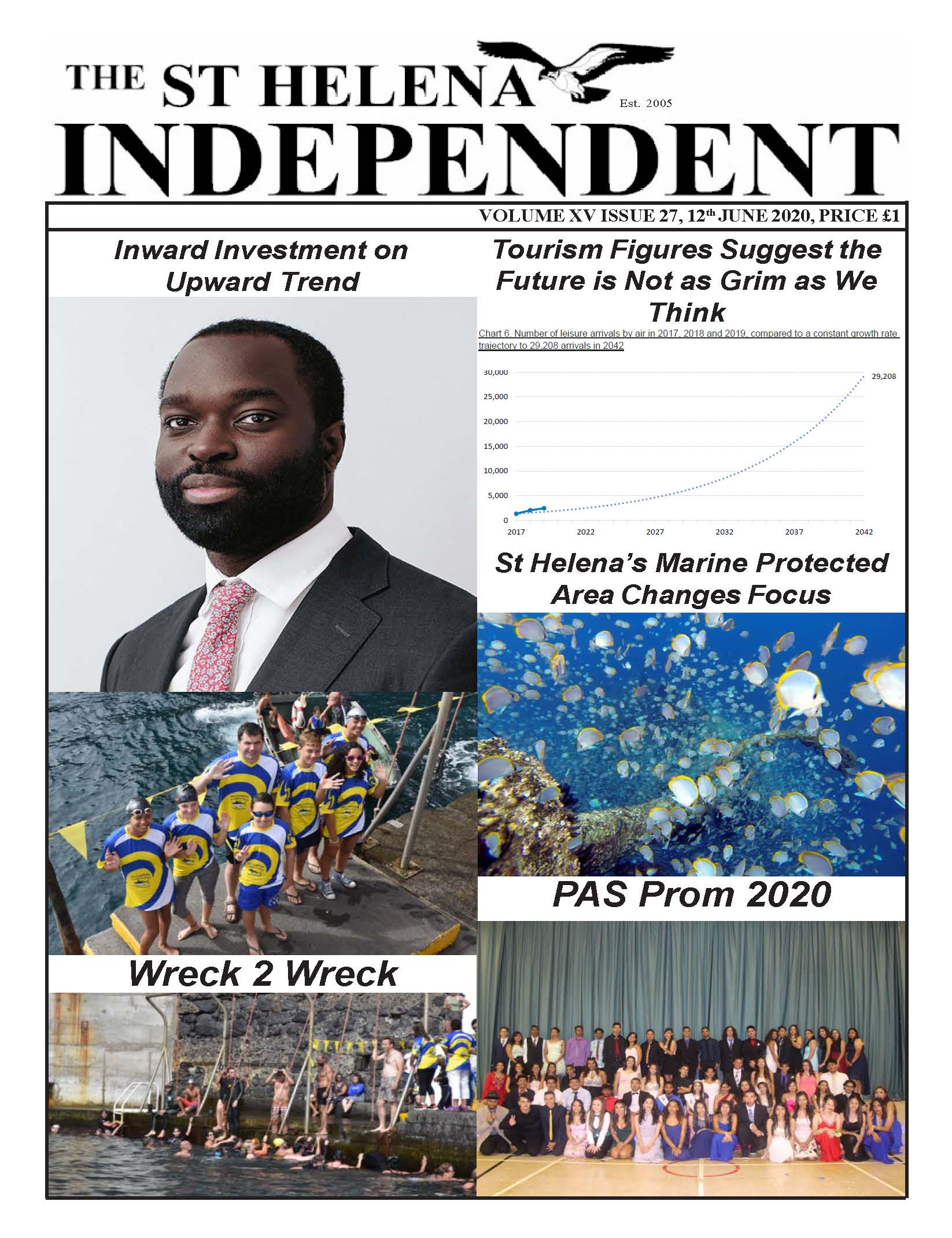 St Helena Independent 20200612 p1