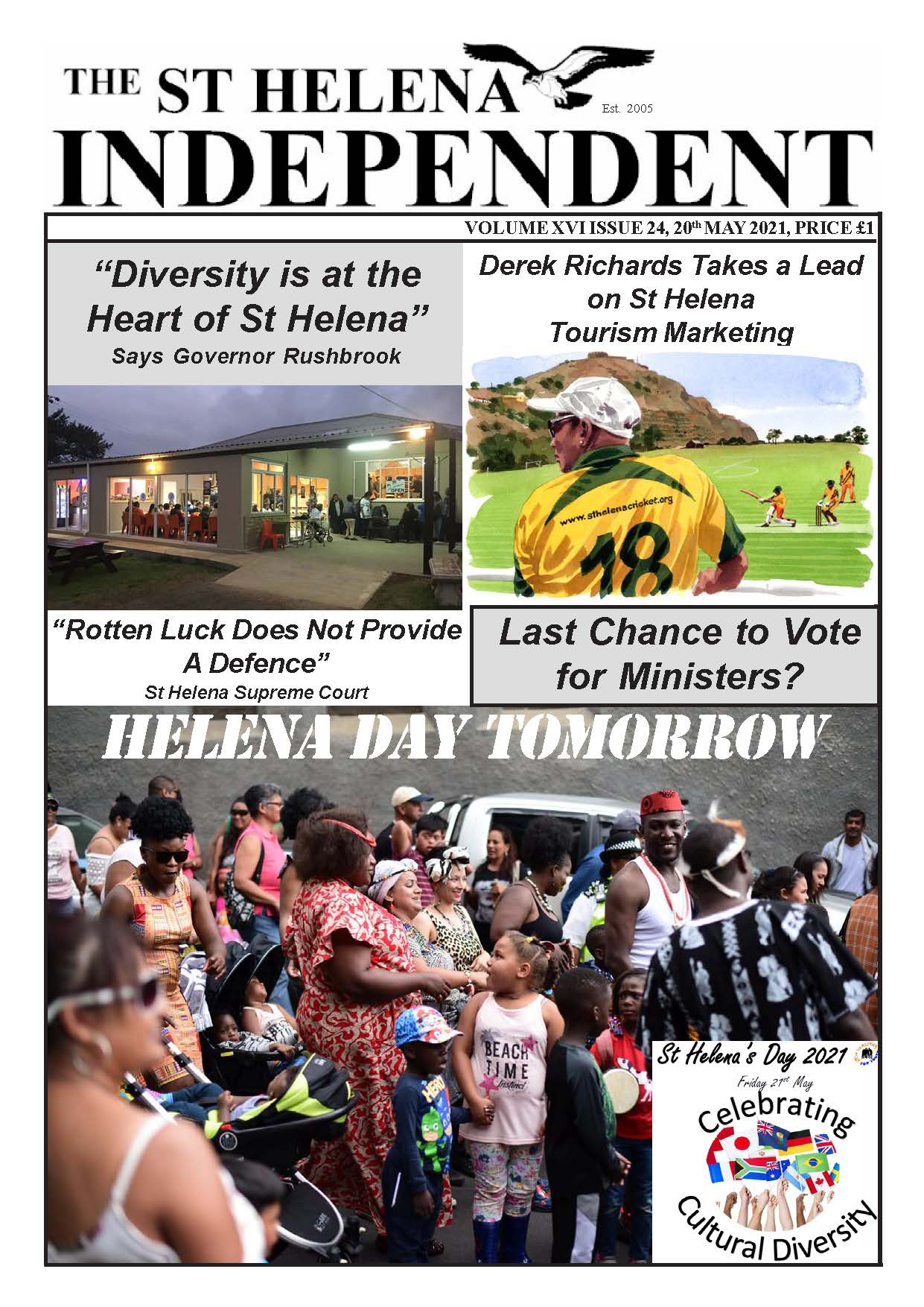 St Helena Independent 20210520 p1