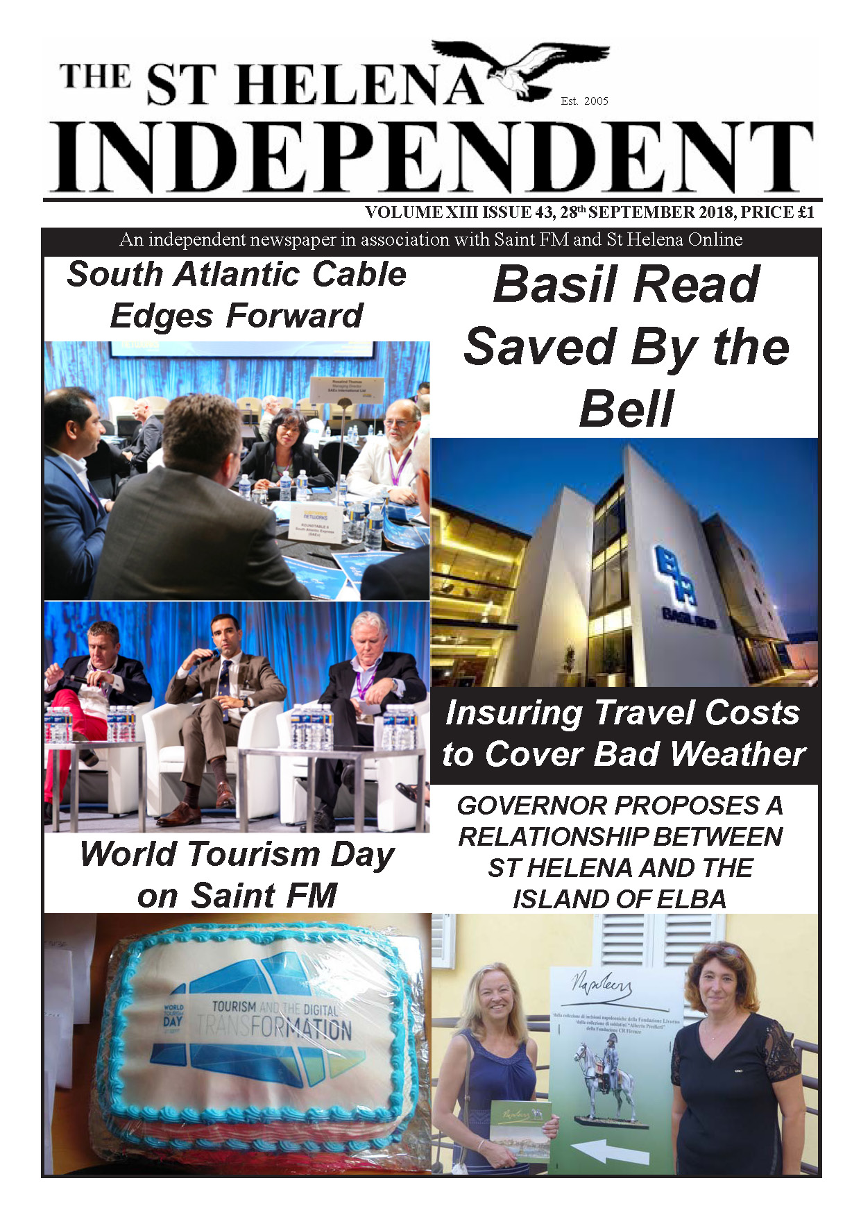 St Helena Independent 20180928 p1