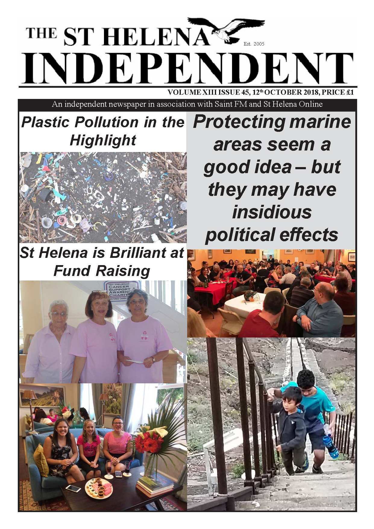 St Helena Independent 20181012 p1