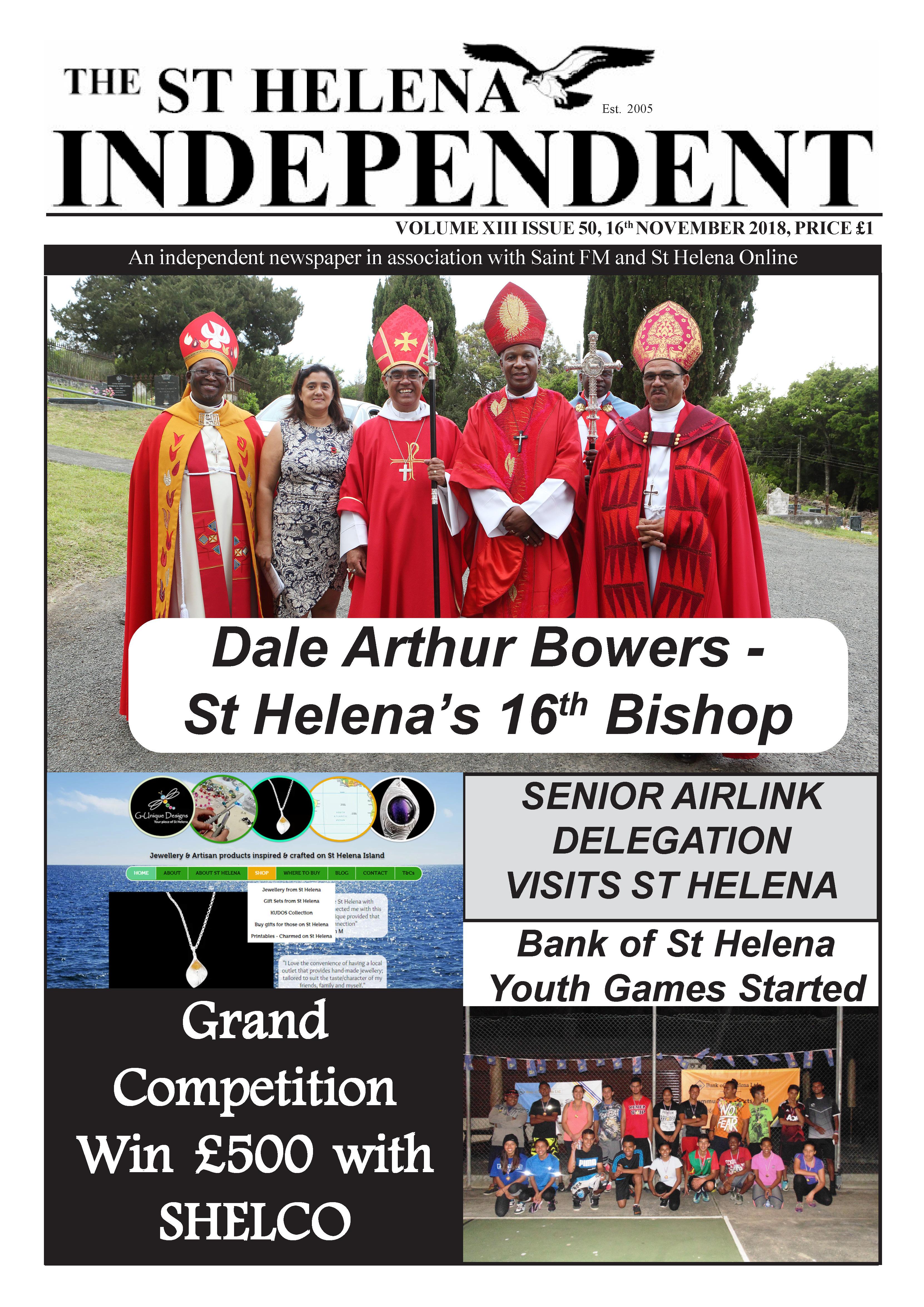St Helena Independent 20181116