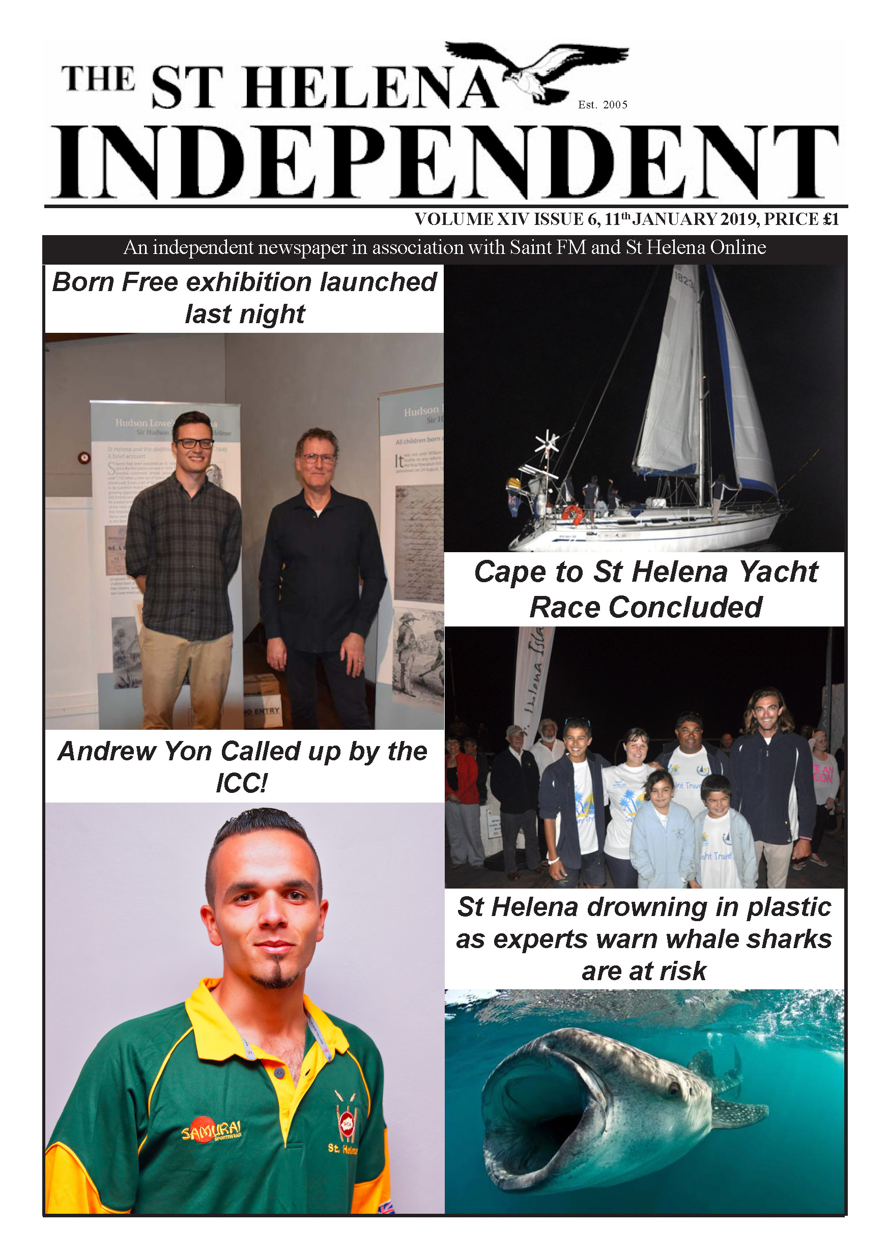 St Helena Independent 20190111