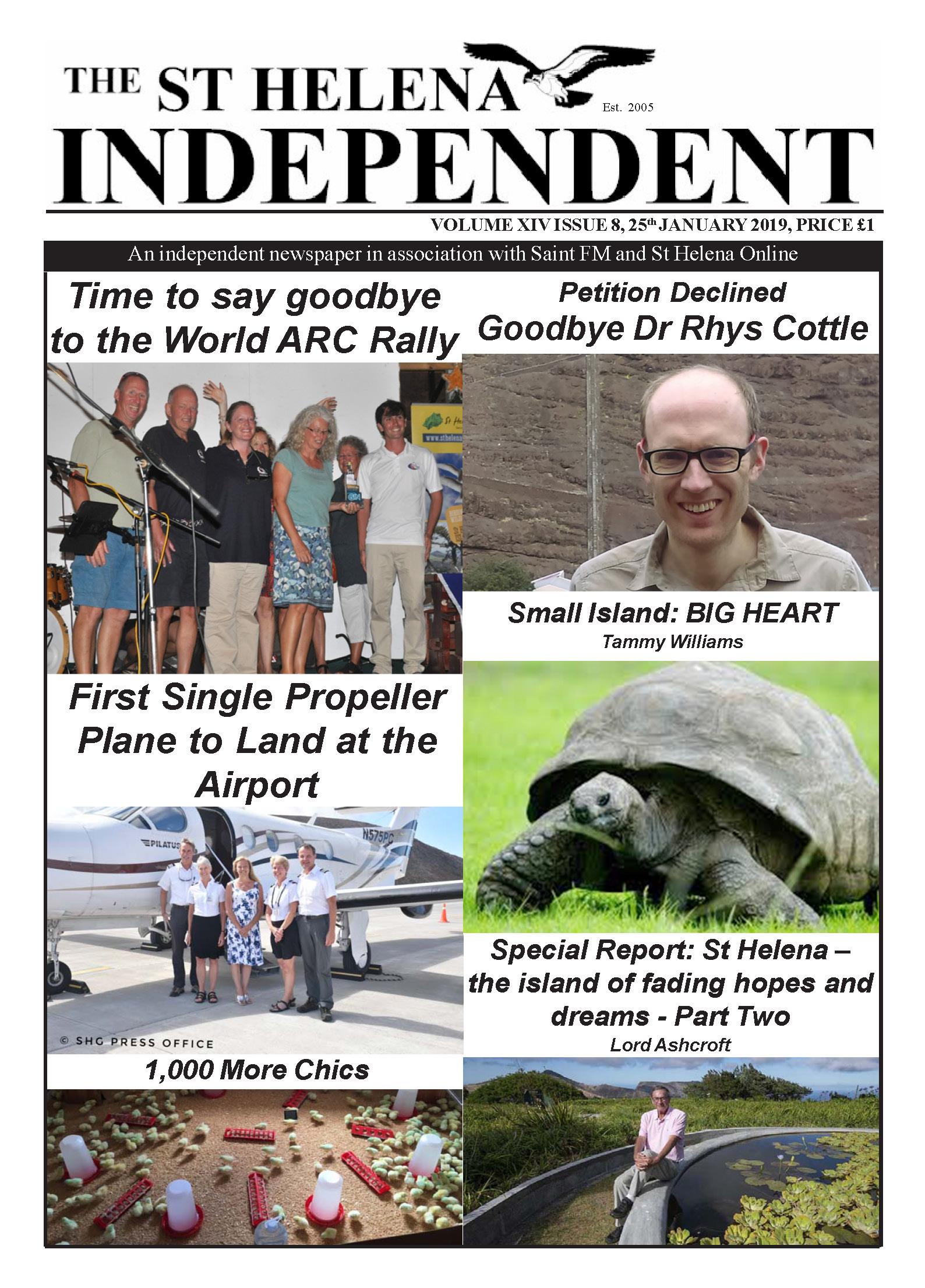 St Helena Independent 20190125