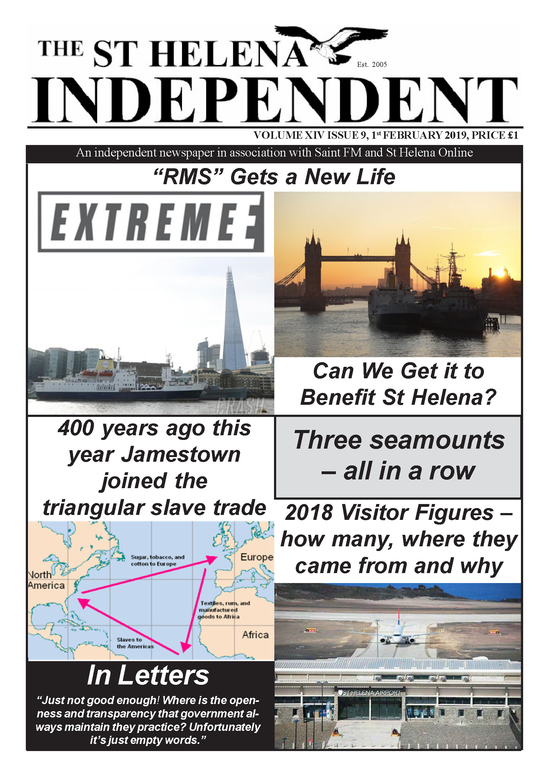 St Helena Independent 20190201