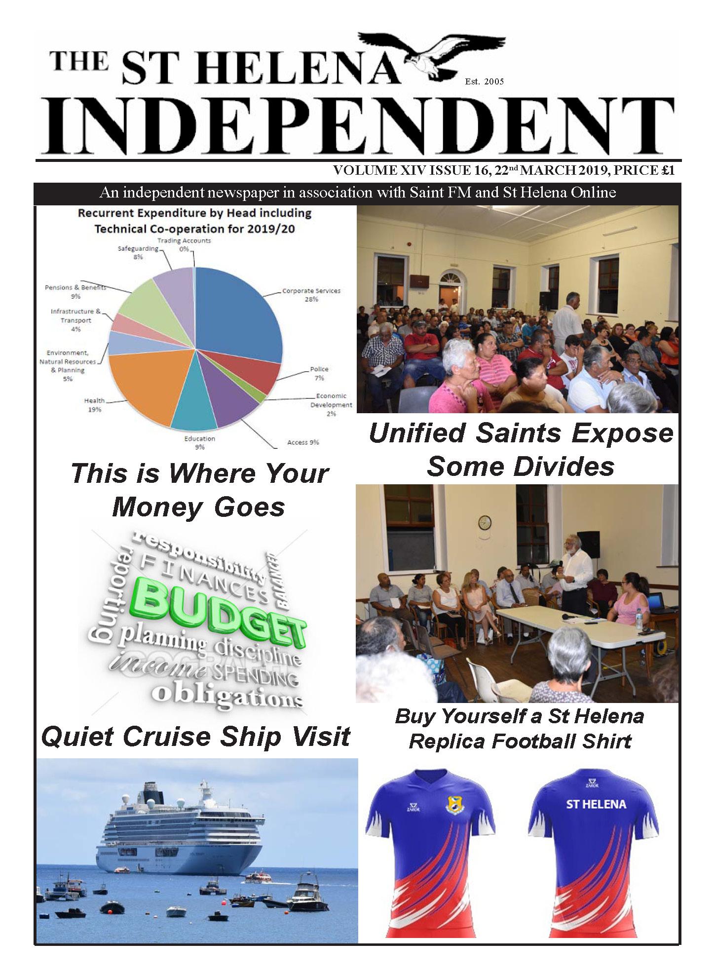 St Helena Independent 20190322