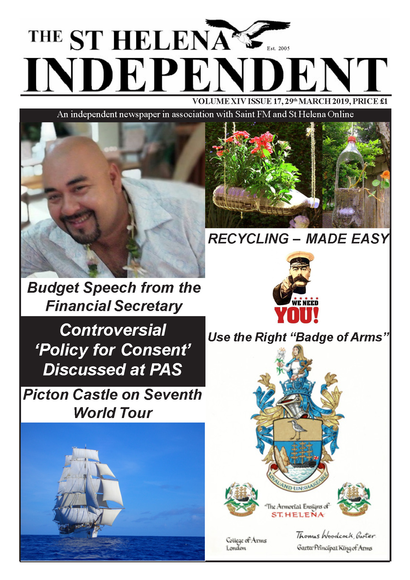 St Helena Independent 20190329