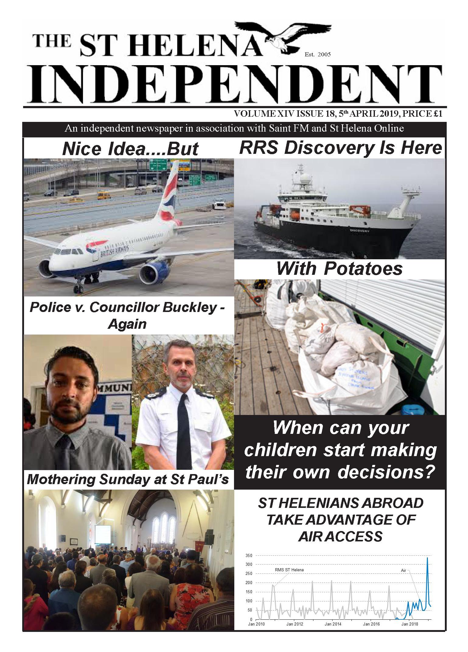 St Helena Independent 20190405