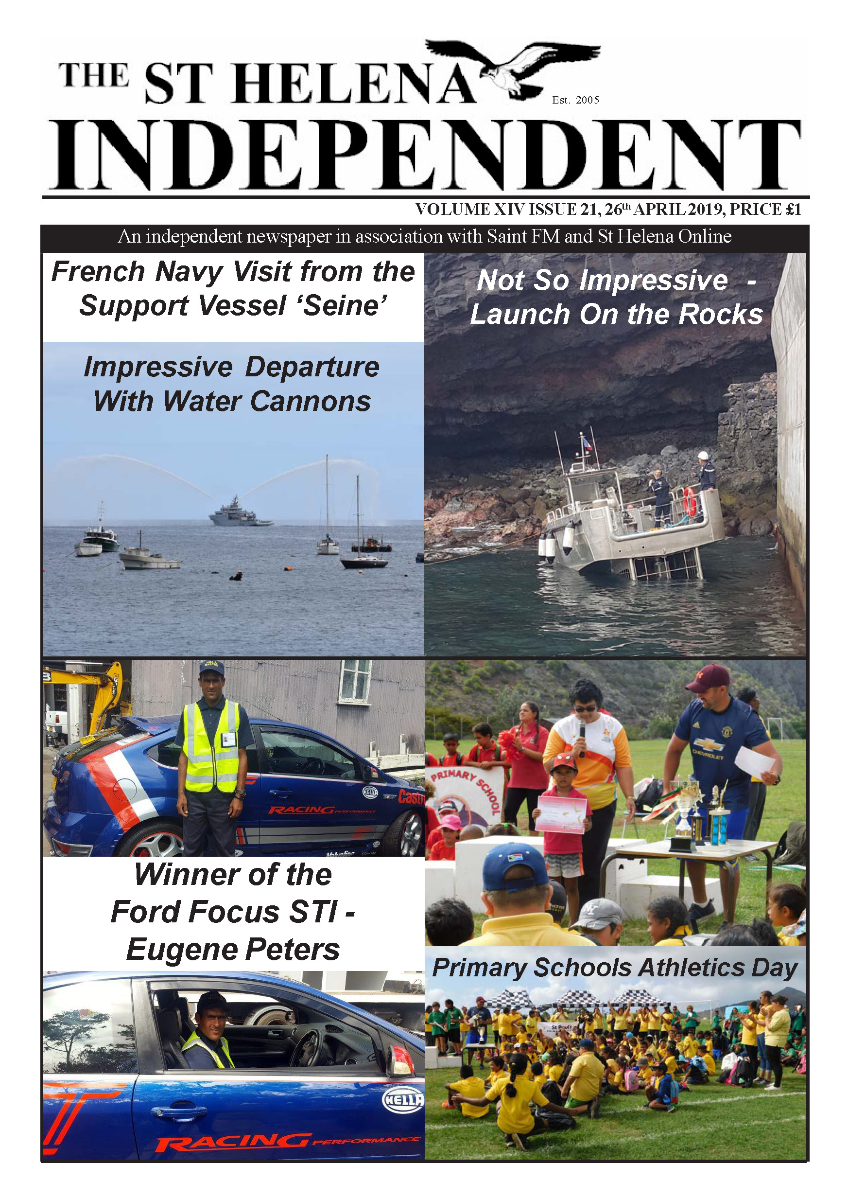 St Helena Independent 20190426