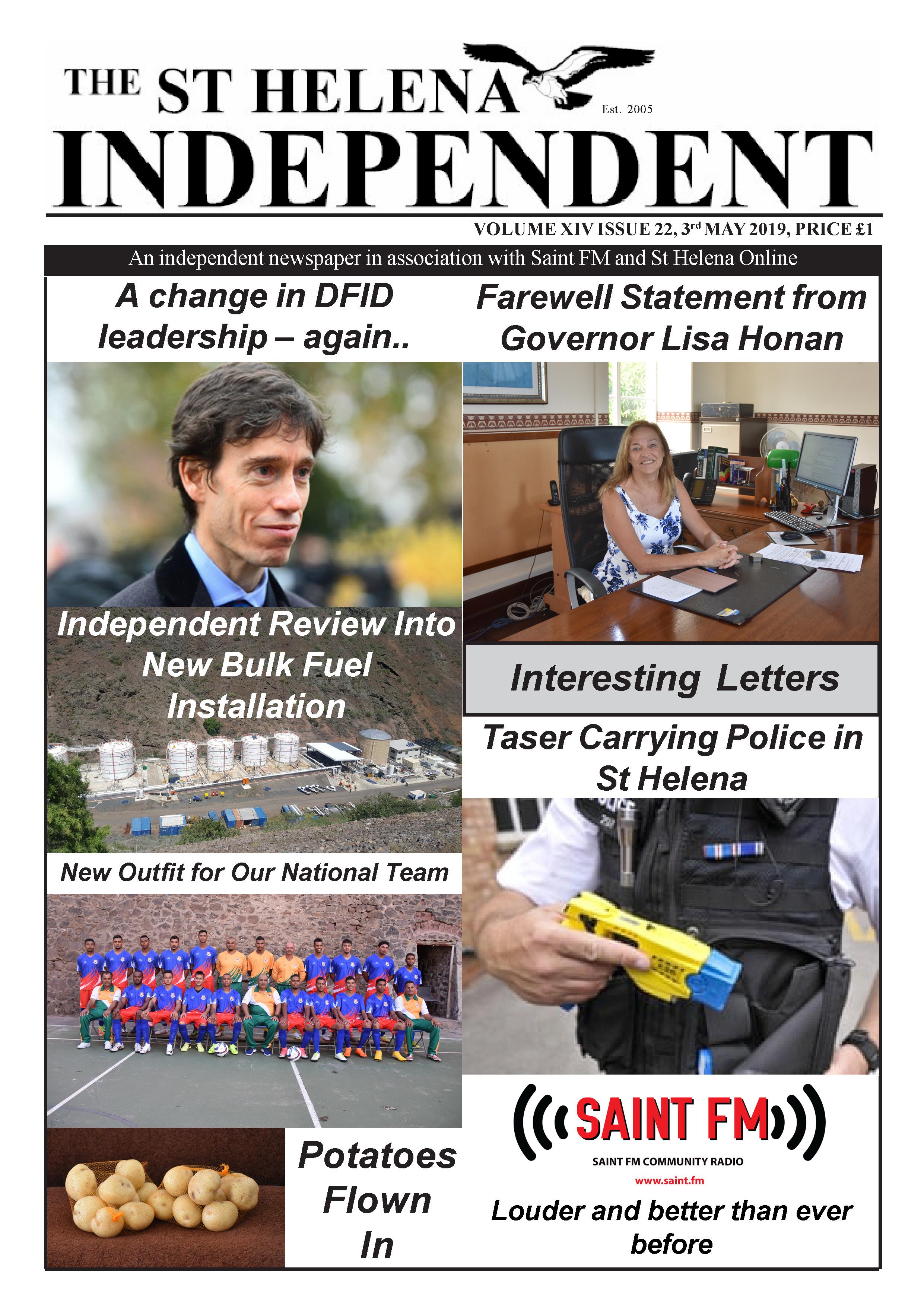St Helena Independent 20190503