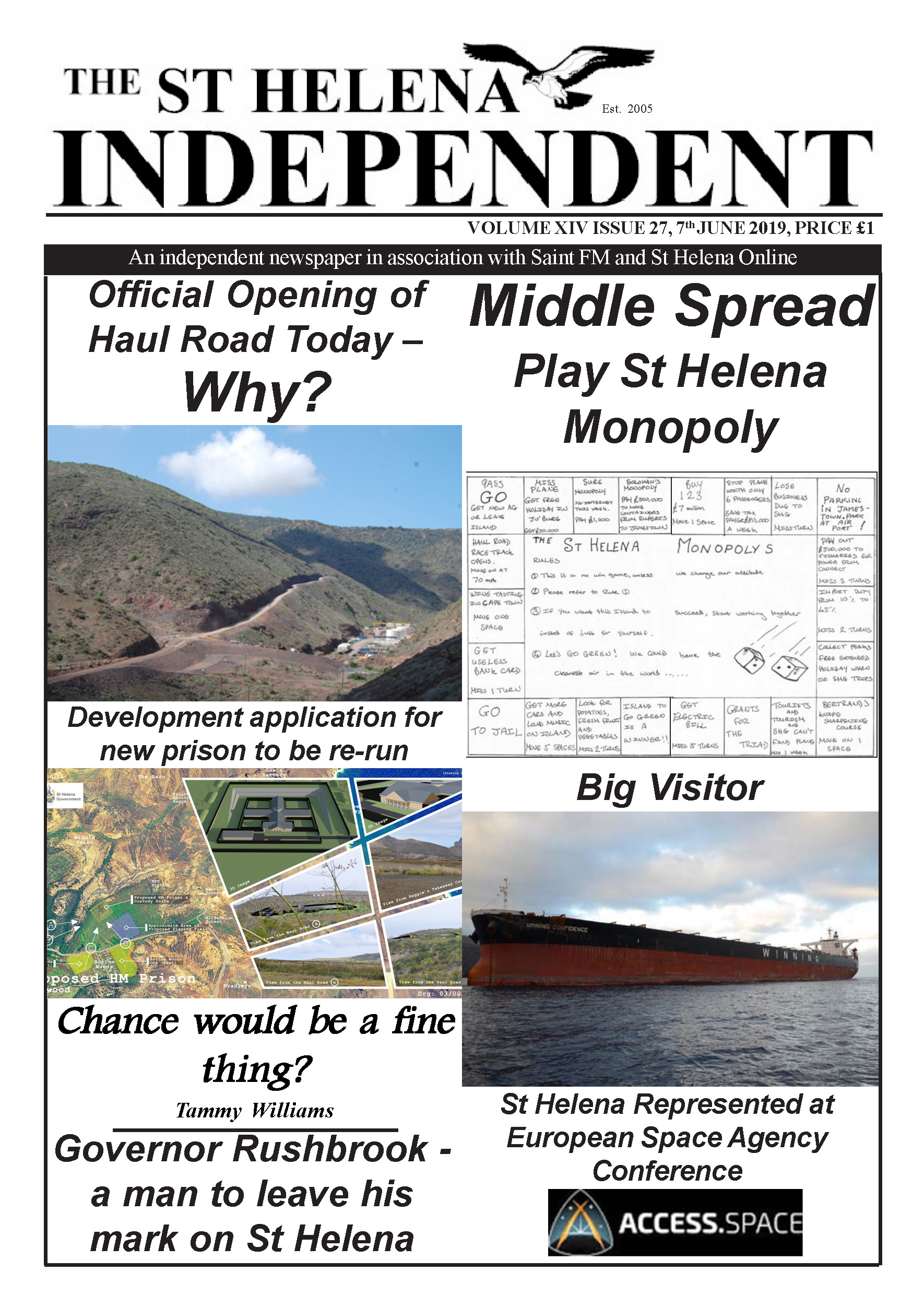 St Helena Independent 20190607