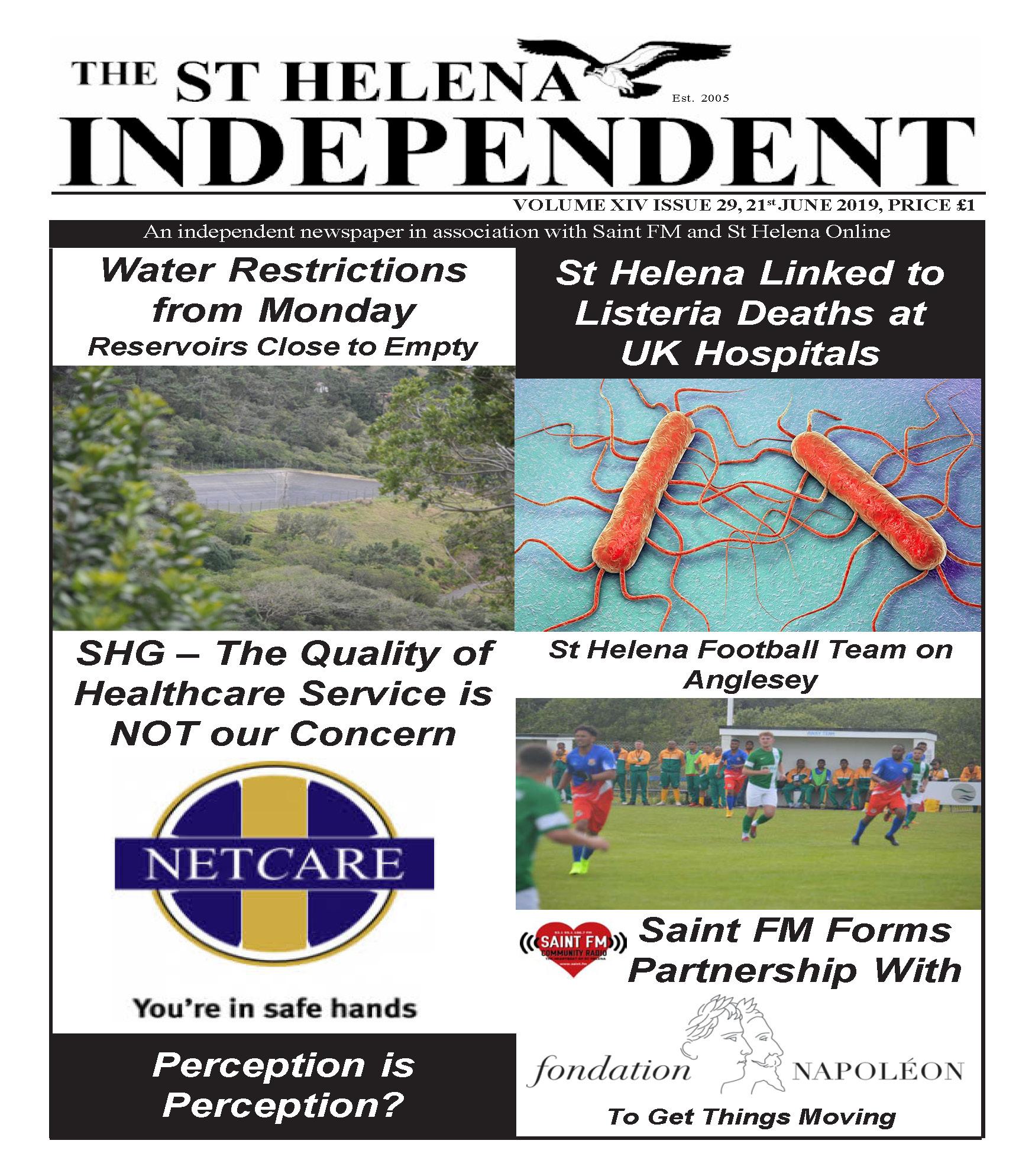 St Helena Independent 20190621