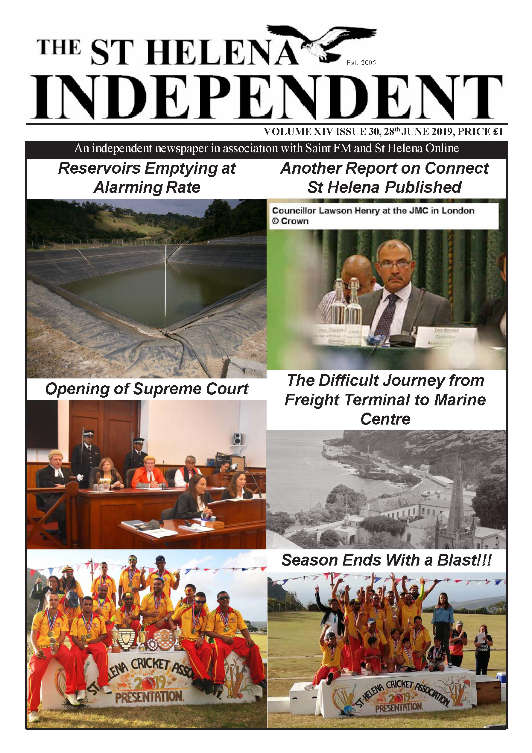 St Helena Independent 20190628