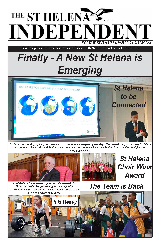 St Helena Independent 20190705