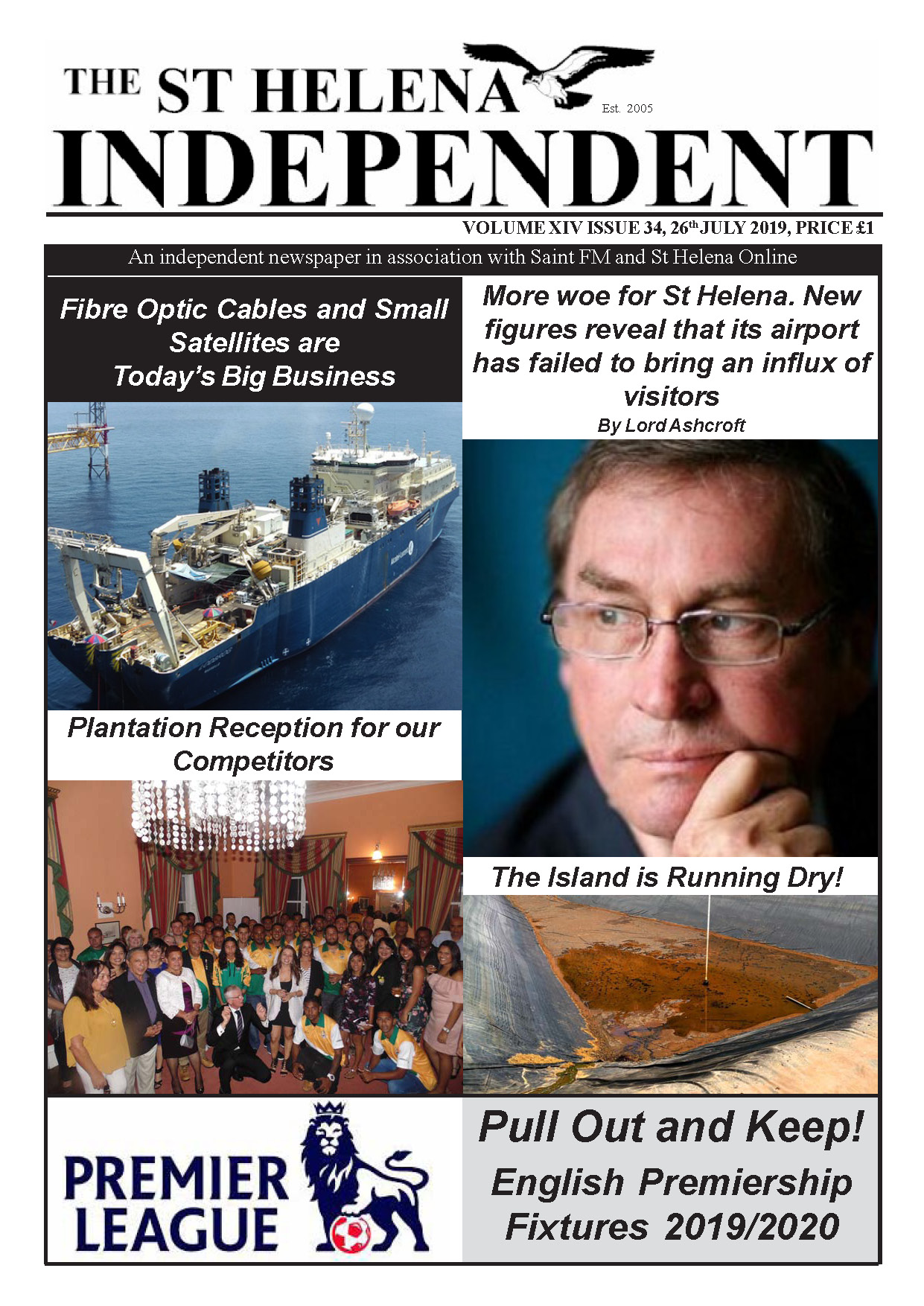 St Helena Independent 20190726