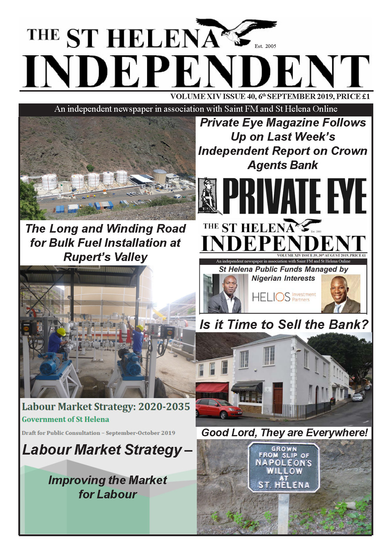 St Helena Independent 20190906