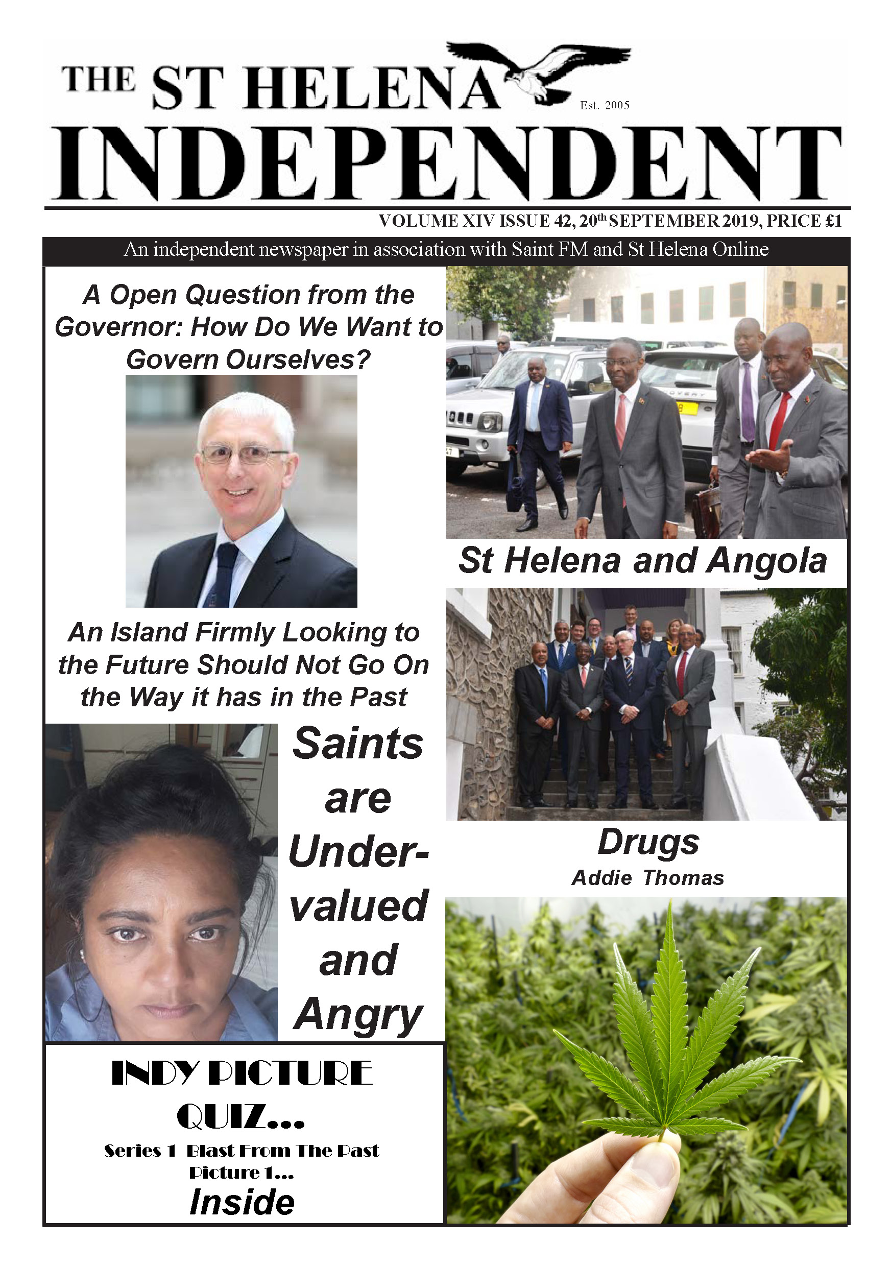St Helena Independent 20190920