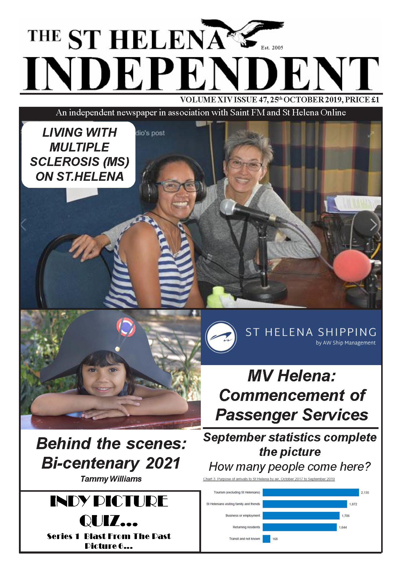 St Helena Independent 20191025 p1