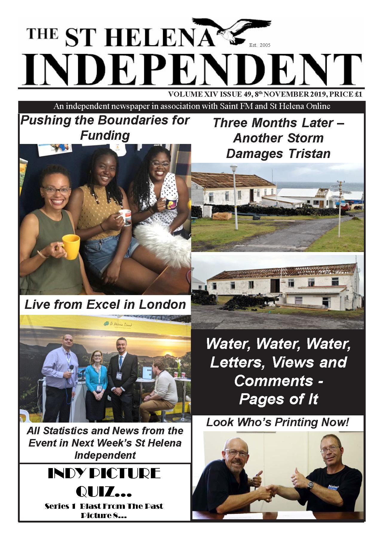 St Helena Independent 20191108