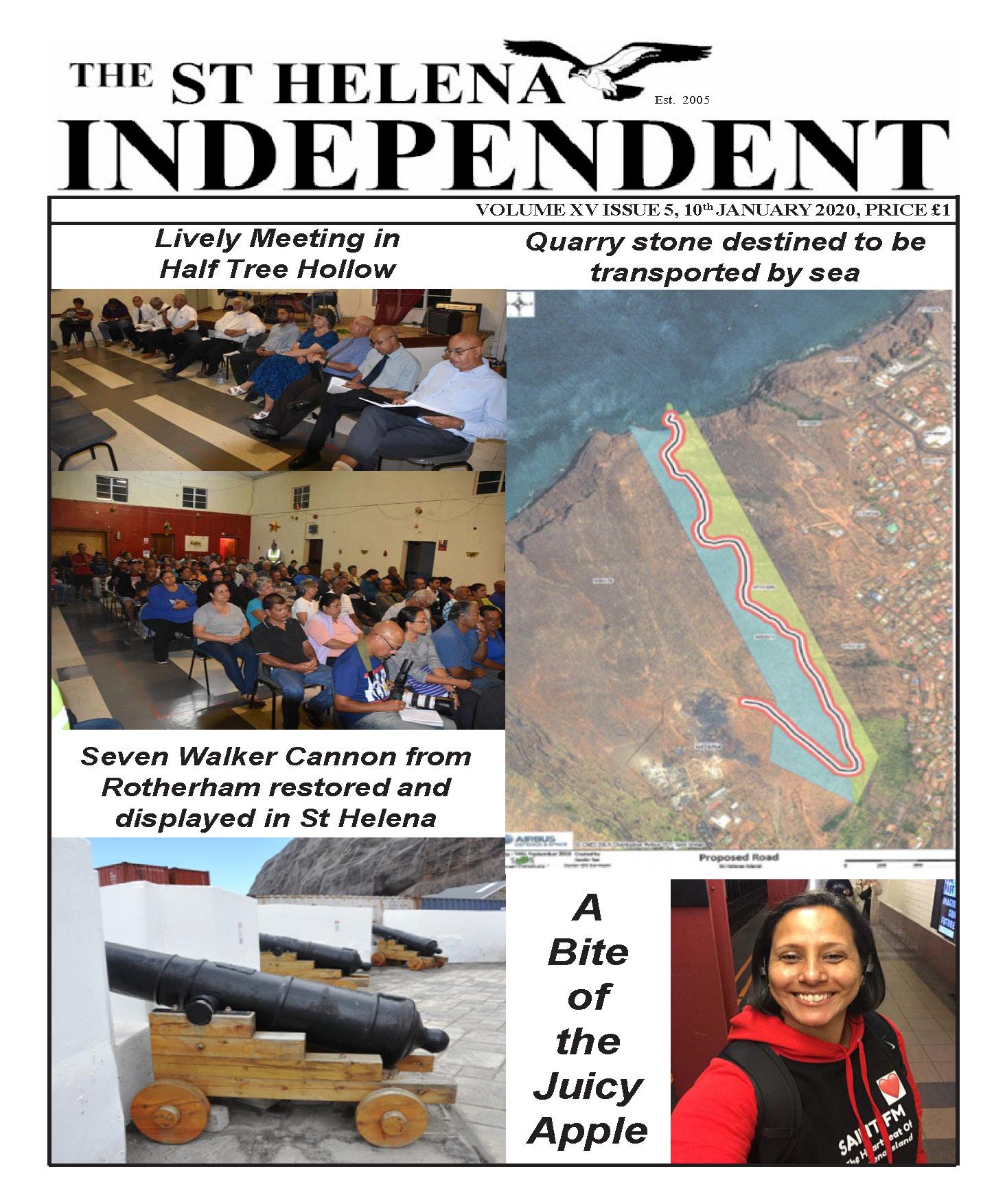 St Helena Independent 20200110