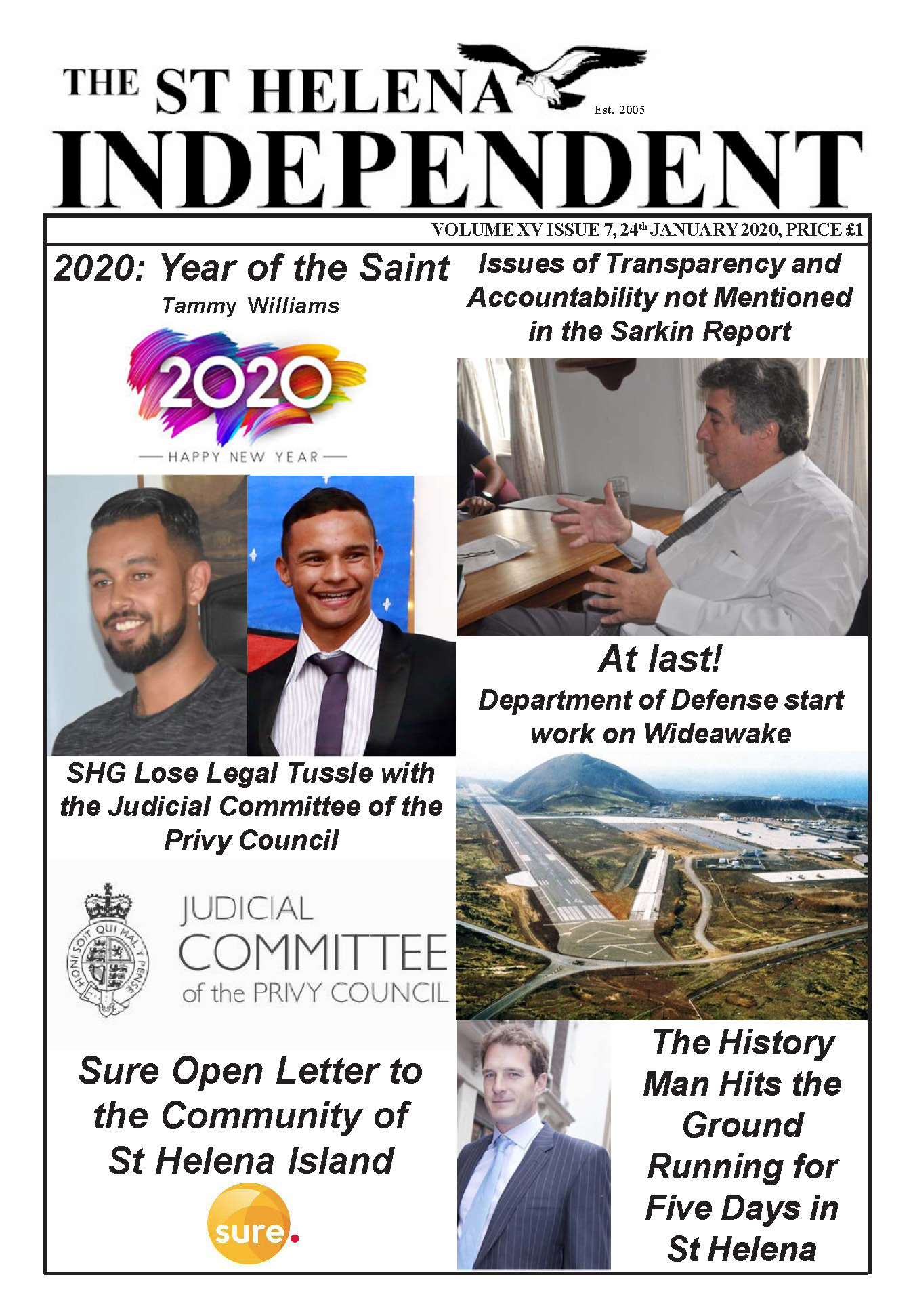 St Helena Independent 20200124