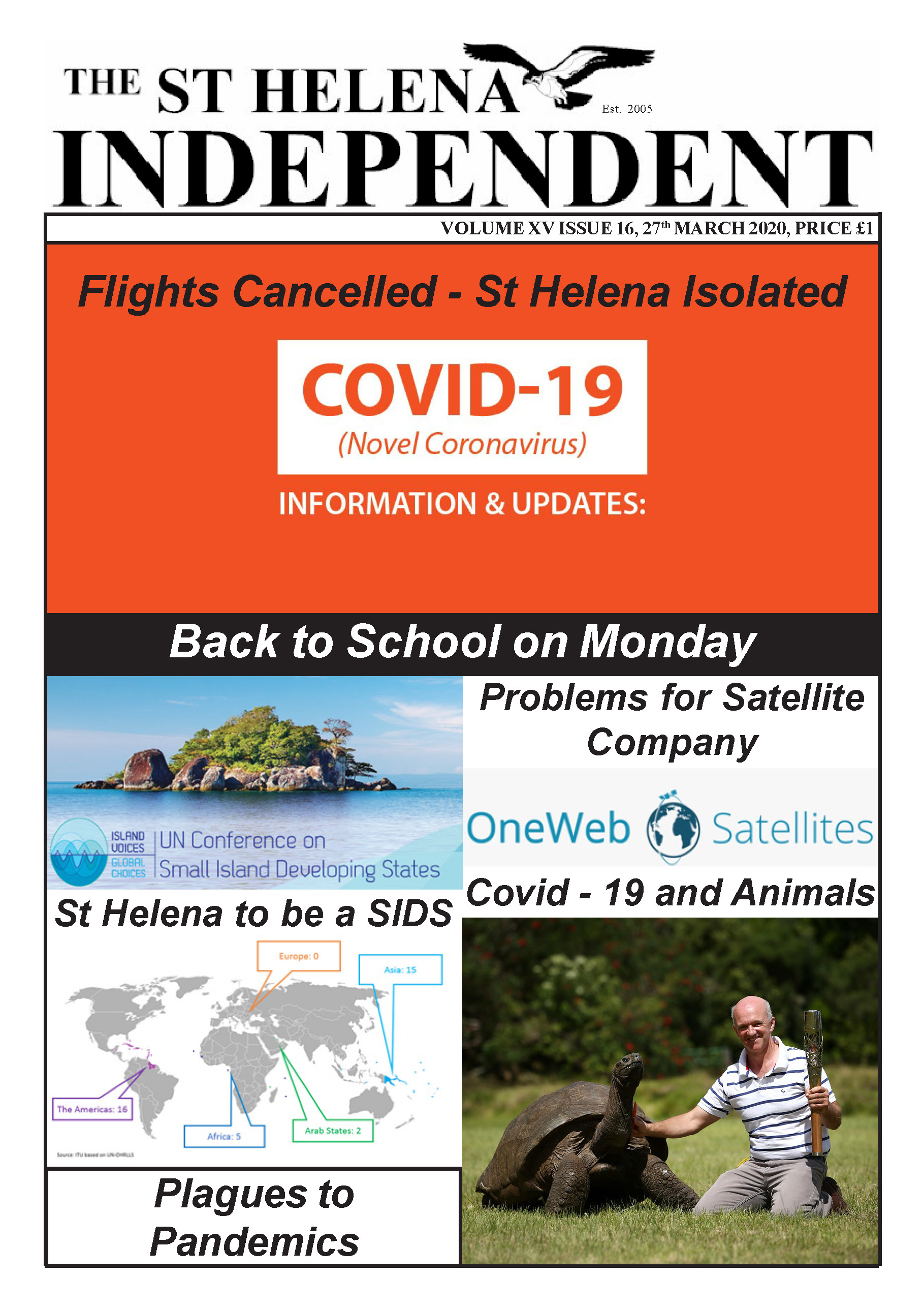 St Helena Independent 20200327 p1