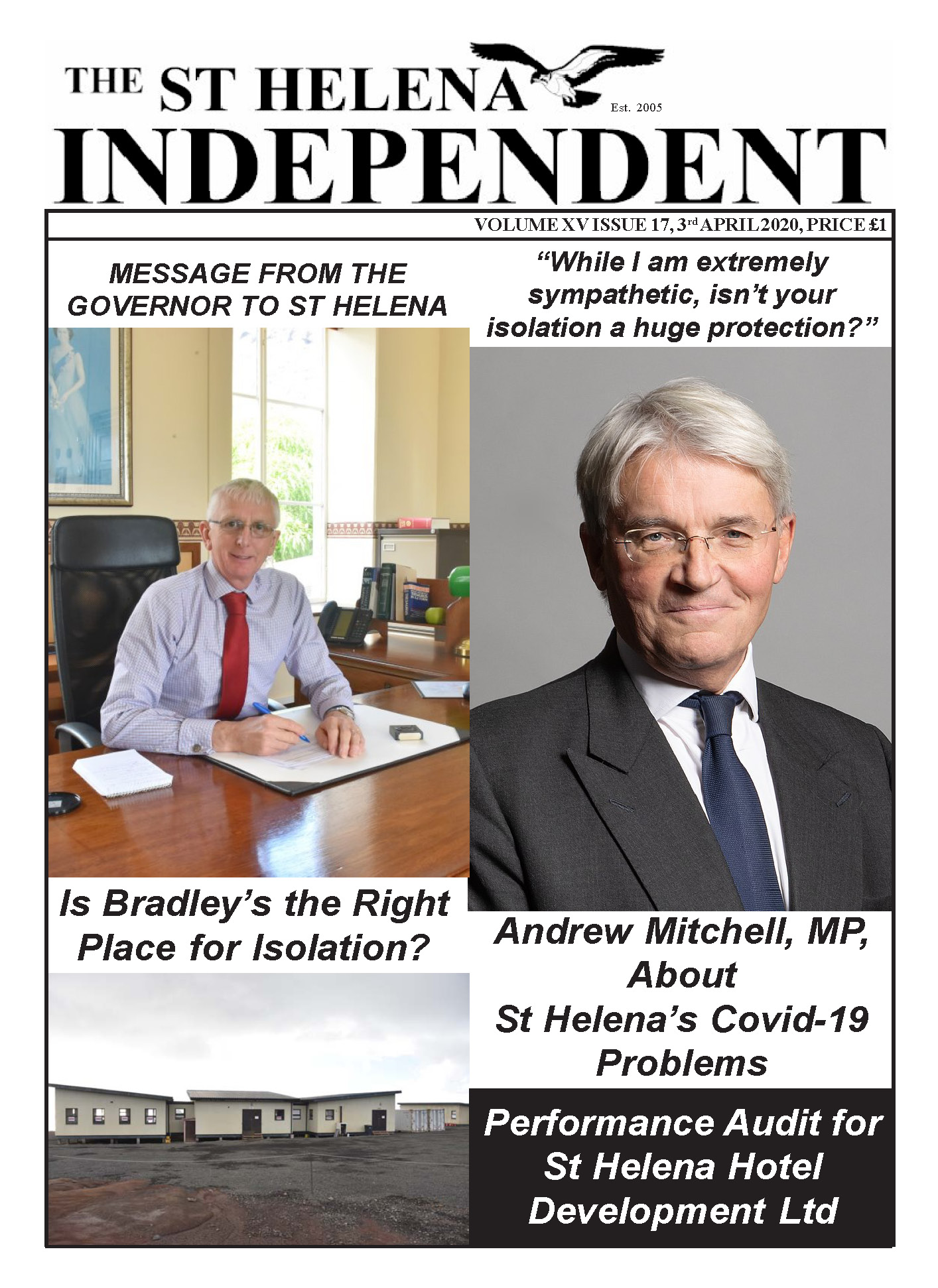 St Helena Independent 20200403 p1