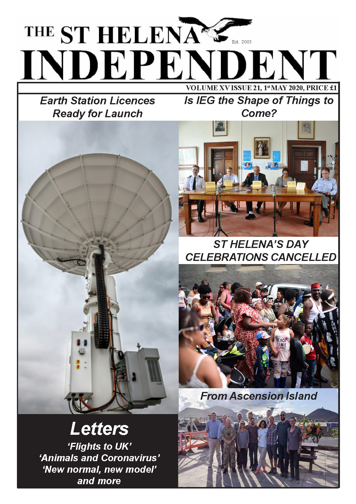 St Helena Independent 20200501 p1