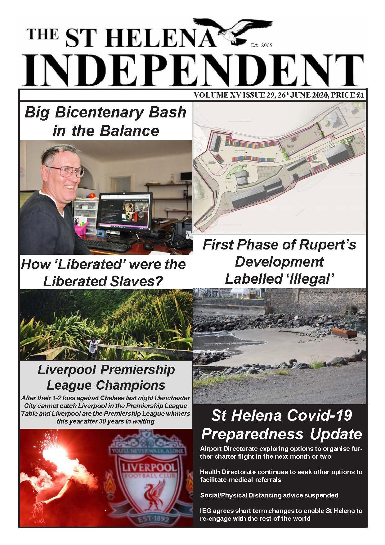 St Helena Independent 20200626