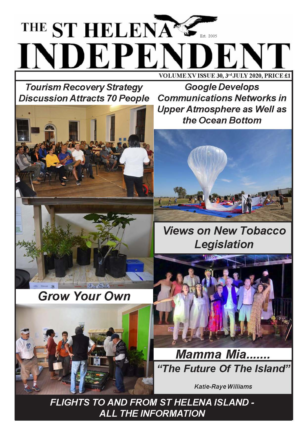 St Helena Independent 20200703 p1